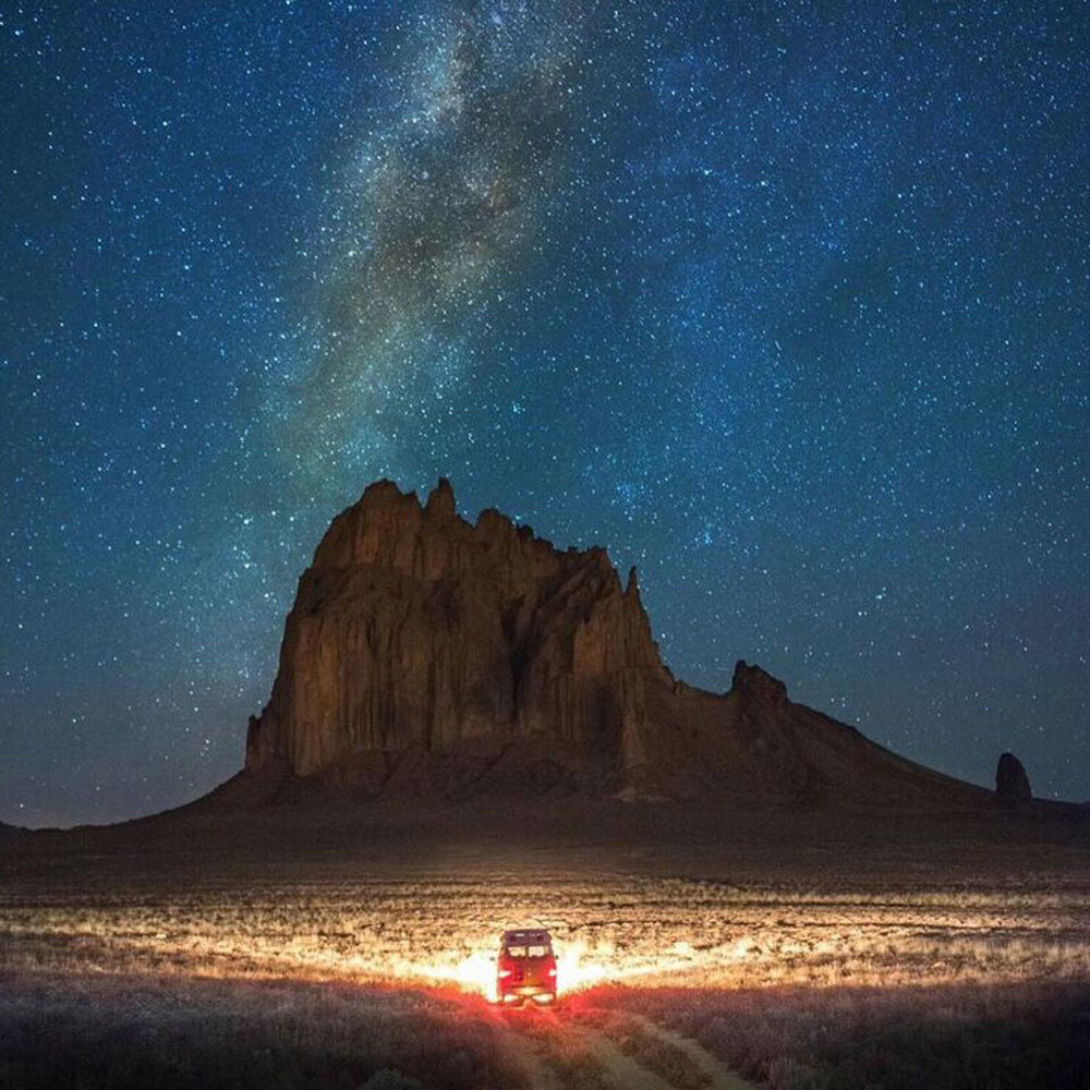 Shiprock Nightscape