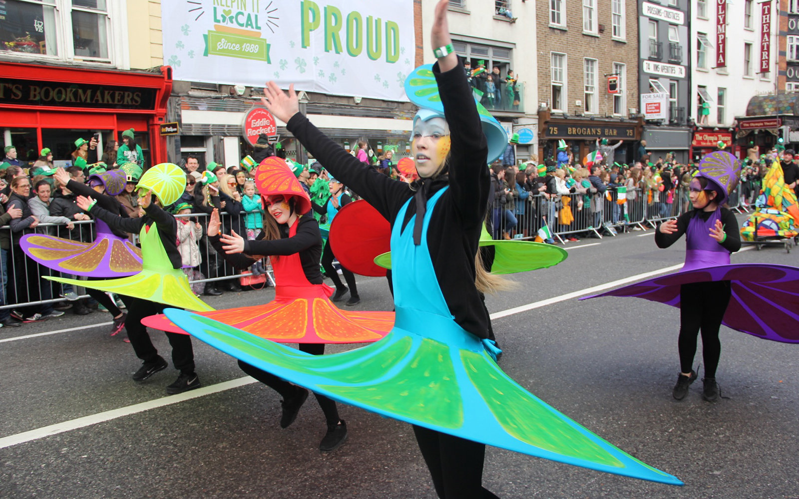 In Photos: Dublin on St. Patrick's Day