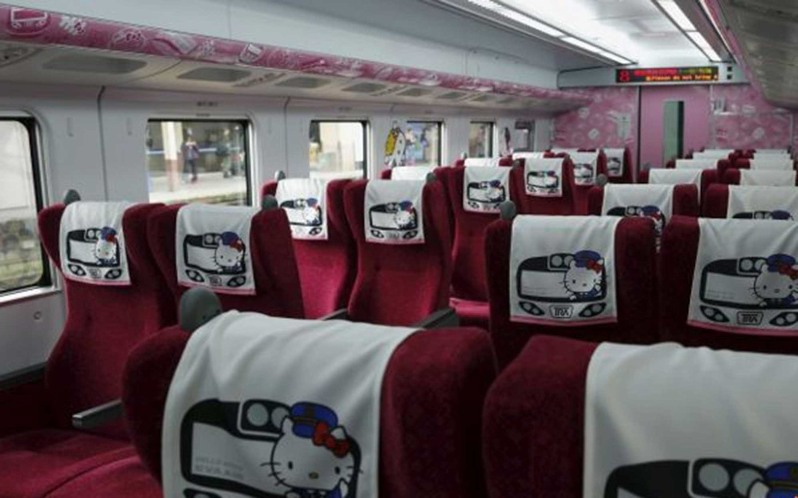 hello kitty train taiwan