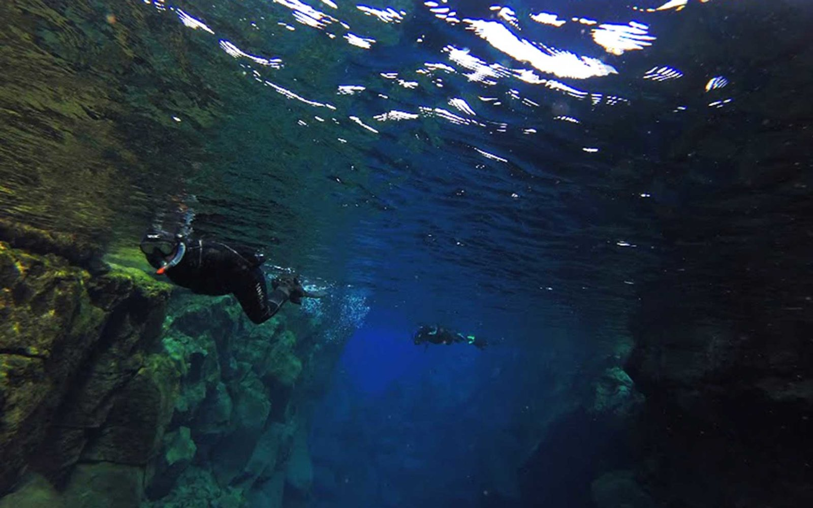 add it to the bucket list you can snorkel between two tectonic plates in iceland