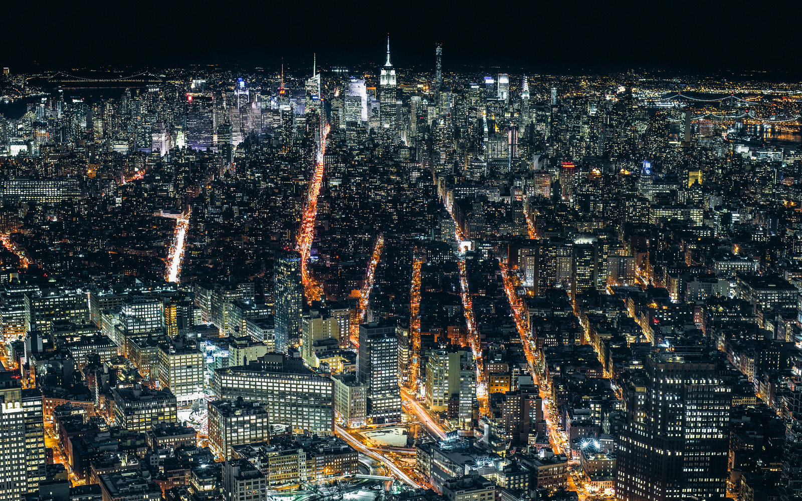 In Photos Skylines Around The World At Night Travel