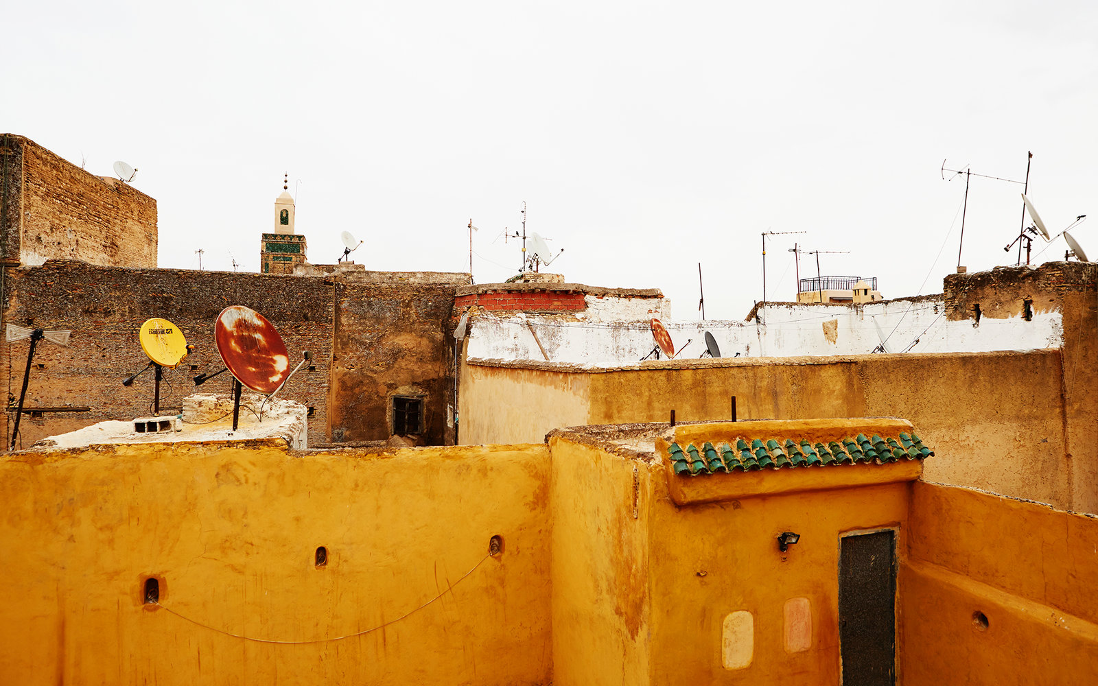Rooftops in Fez Morocco