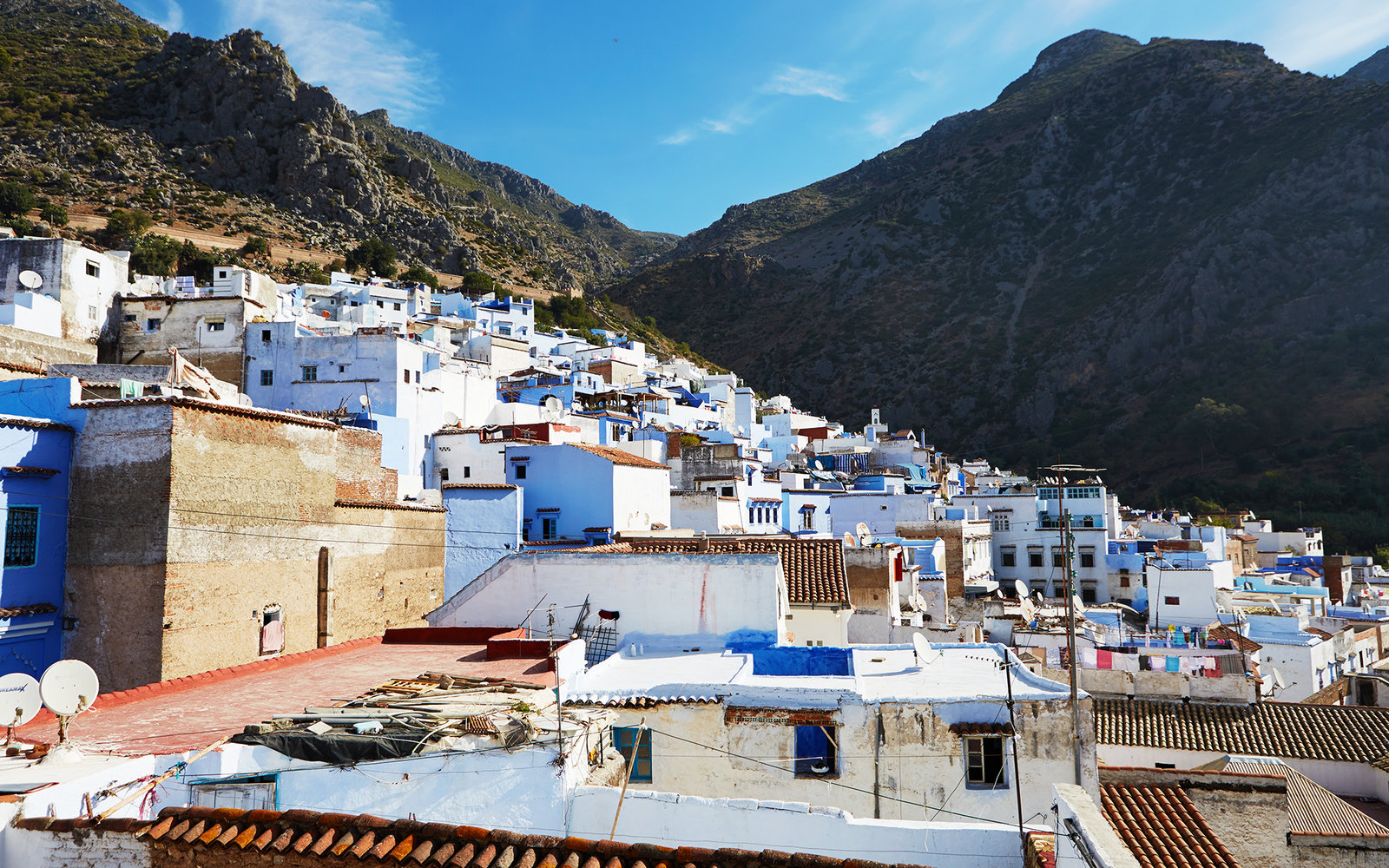 Chefchaouen Mountain City in Morocco