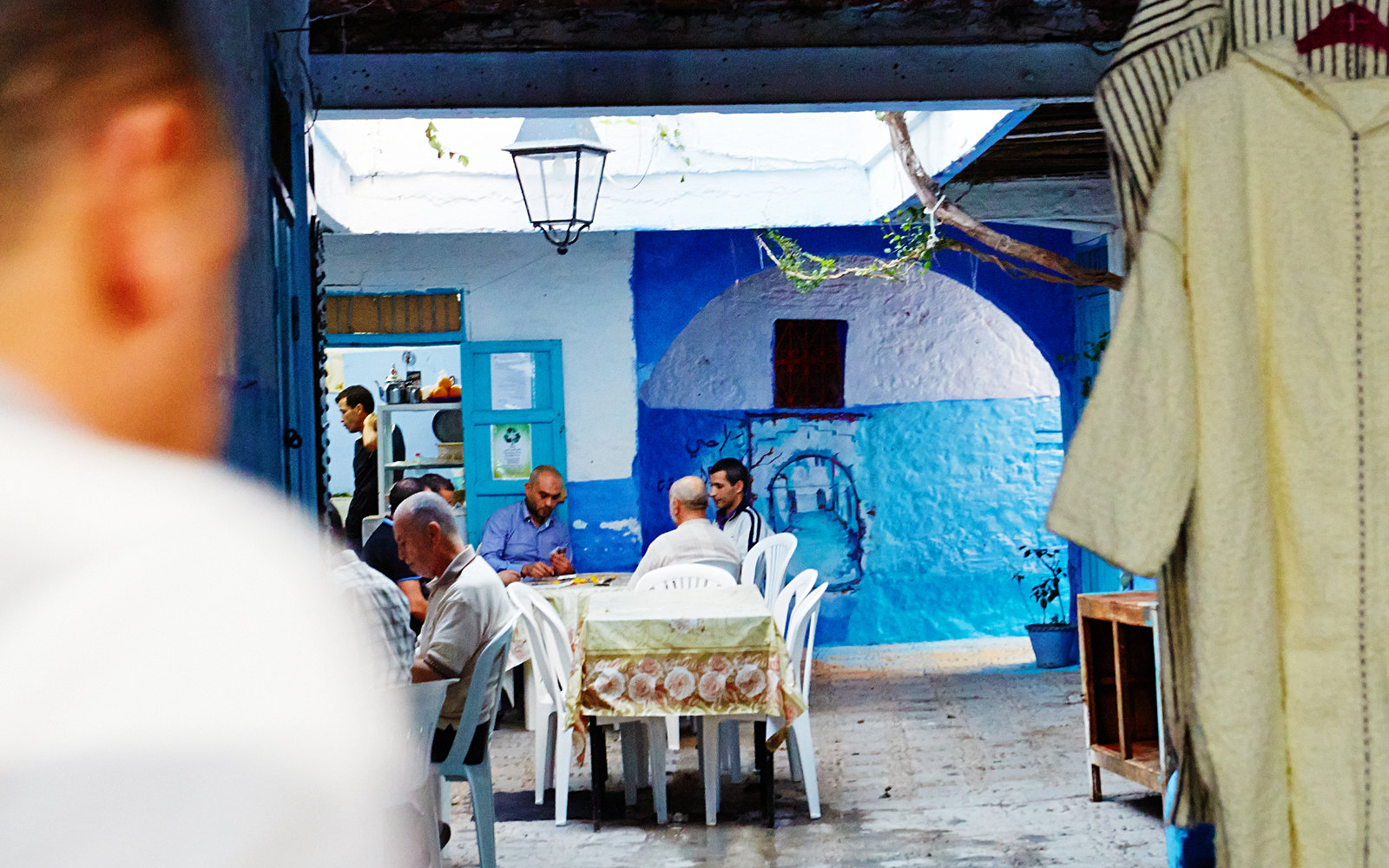 Coffee Shop in Chefchaouen Morocco
