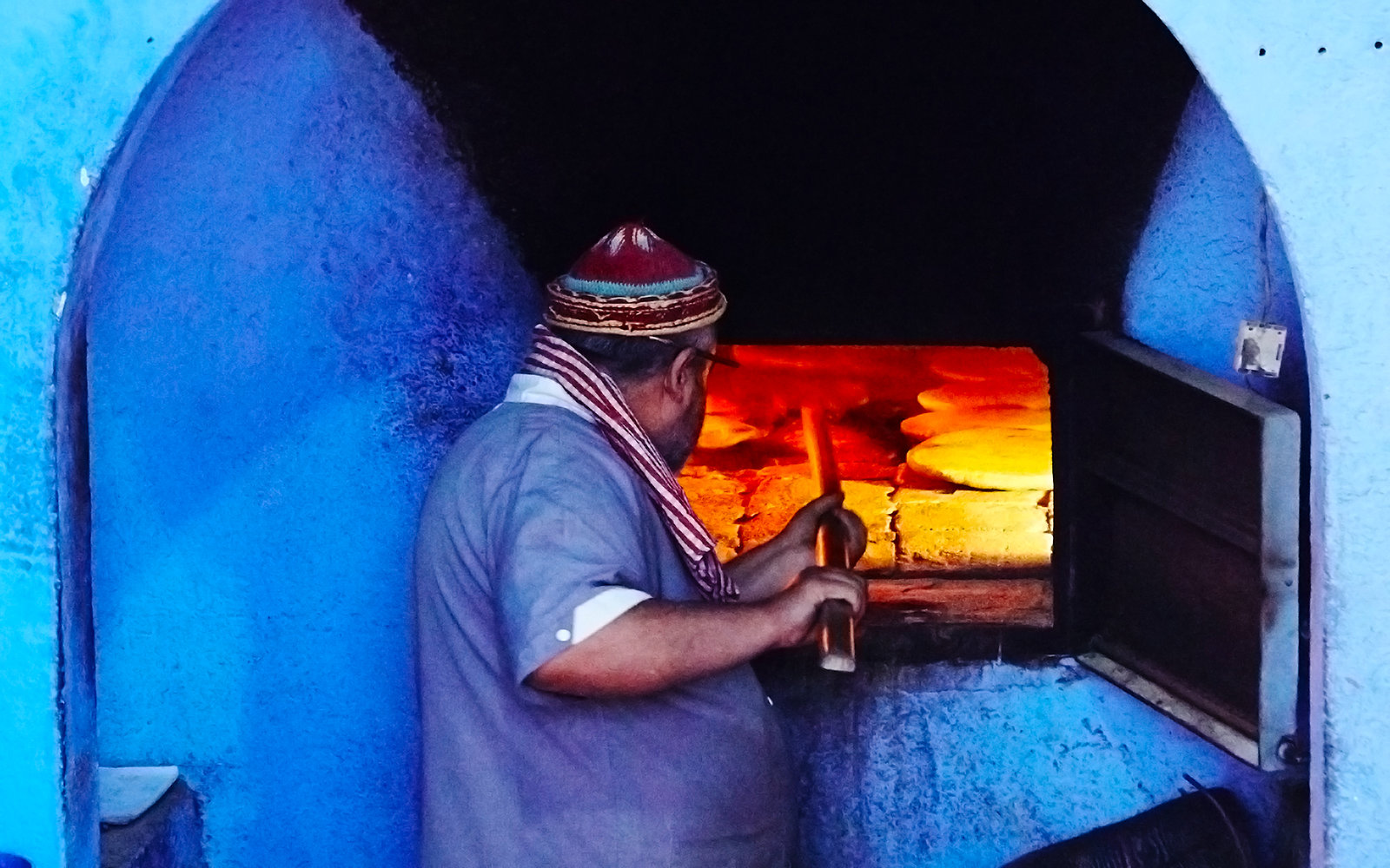 Communal Oven in Chefchaouen Morocco