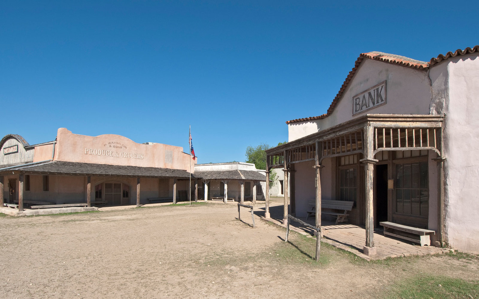 Alamo Village movie location.
