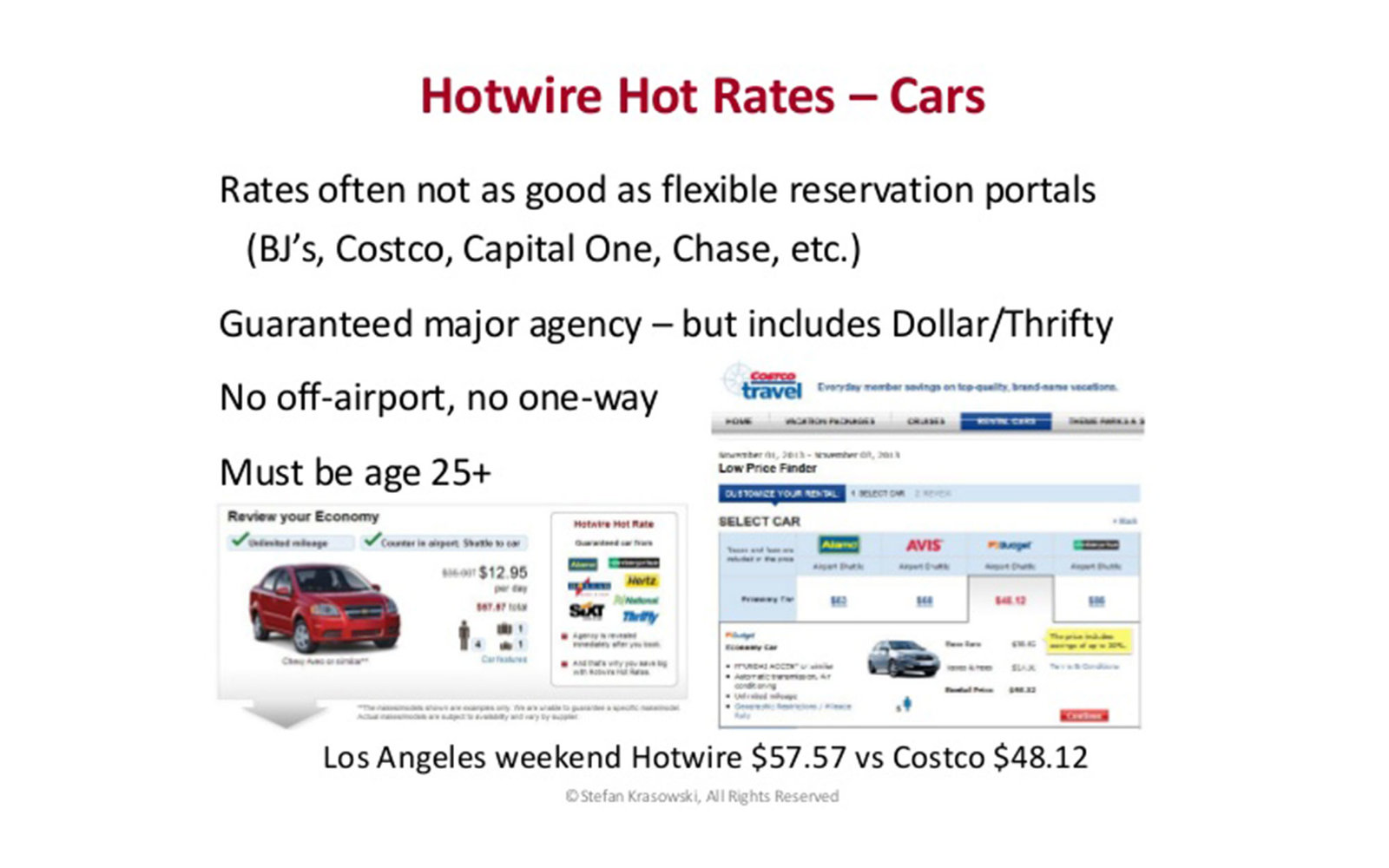 T+L Editors' Booking Hacks: Rental Cars For Less