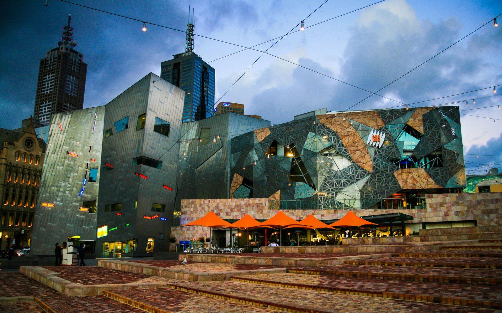 Federation Square of Melbourne, Australia