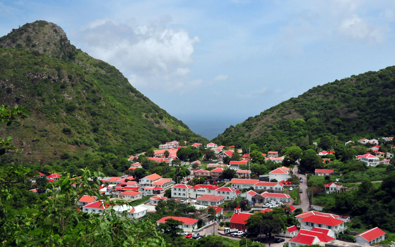 Saba's capital 'The Bottom'