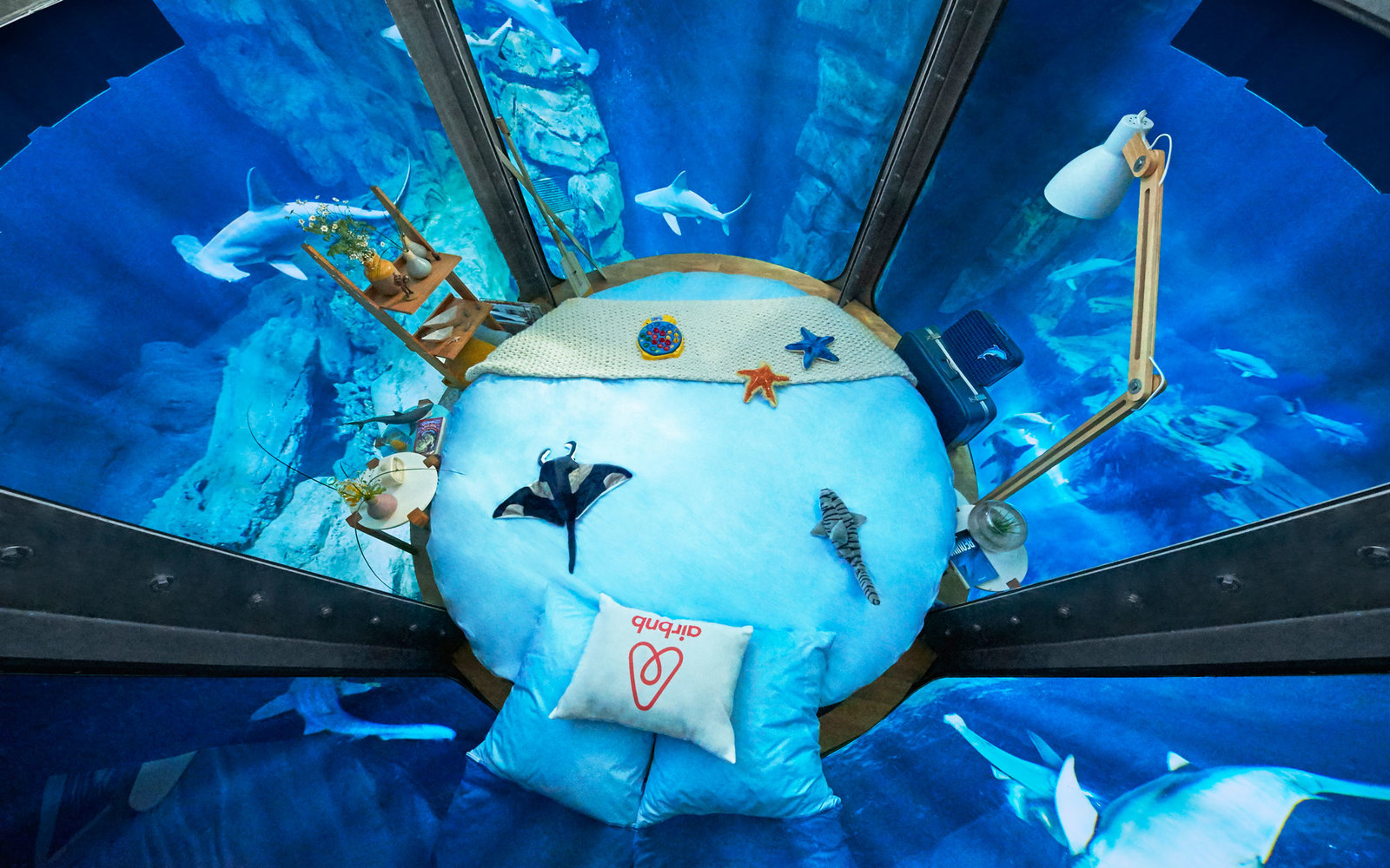 Sleep With The Sharks In A New Underwater Airbnb Travel