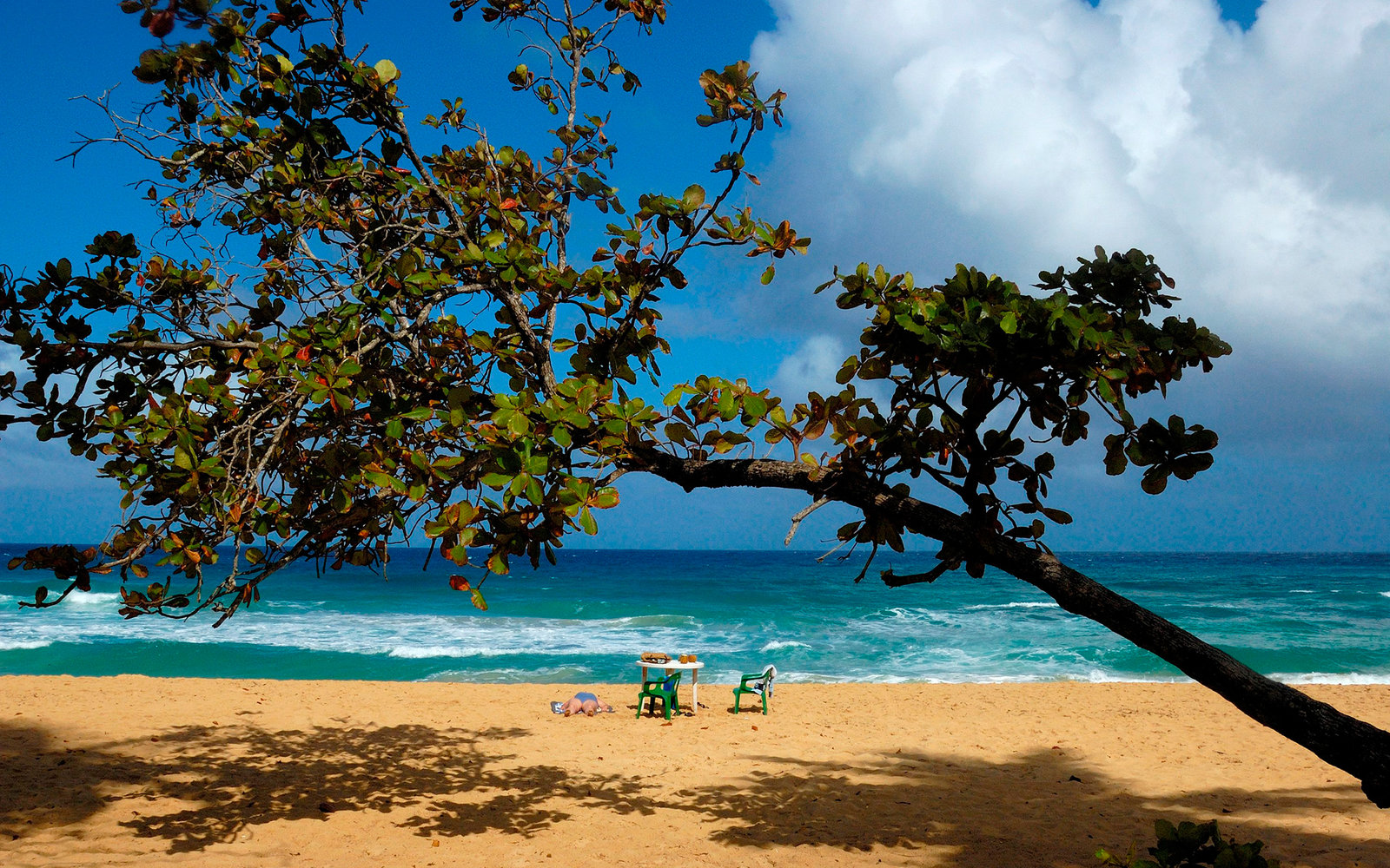 Dominican Republic, Rio San Jan, Playa Grande (Photo by Marka/UIG via Getty Images)