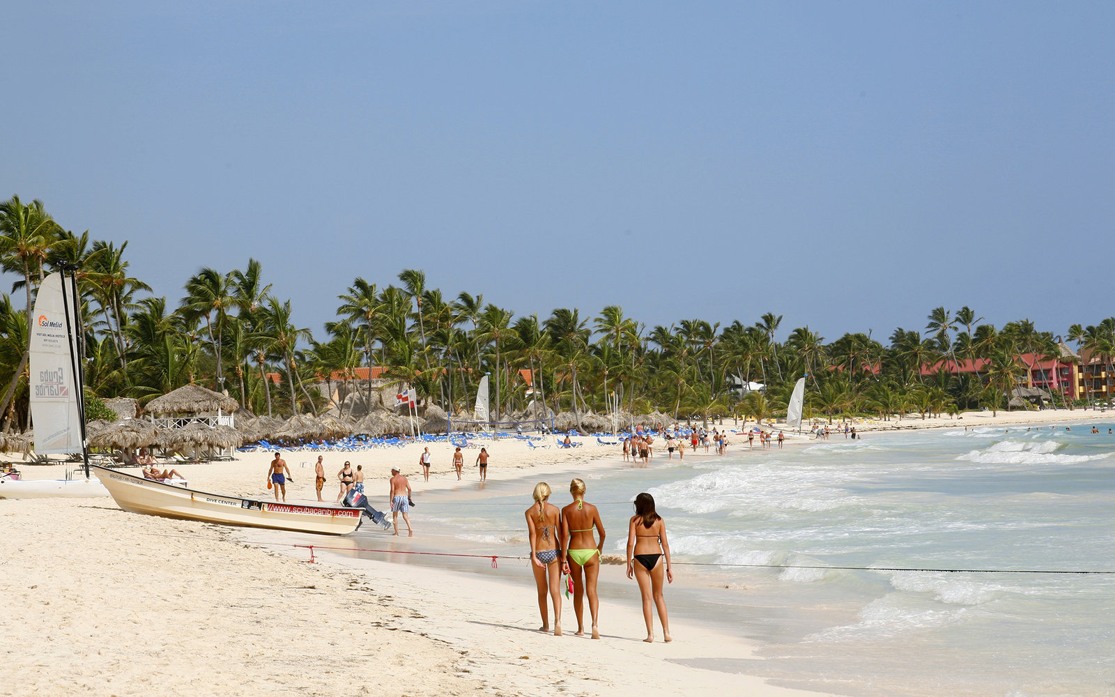 Germany Out Dominican Republic Punta Cana Beach Photo By Baar