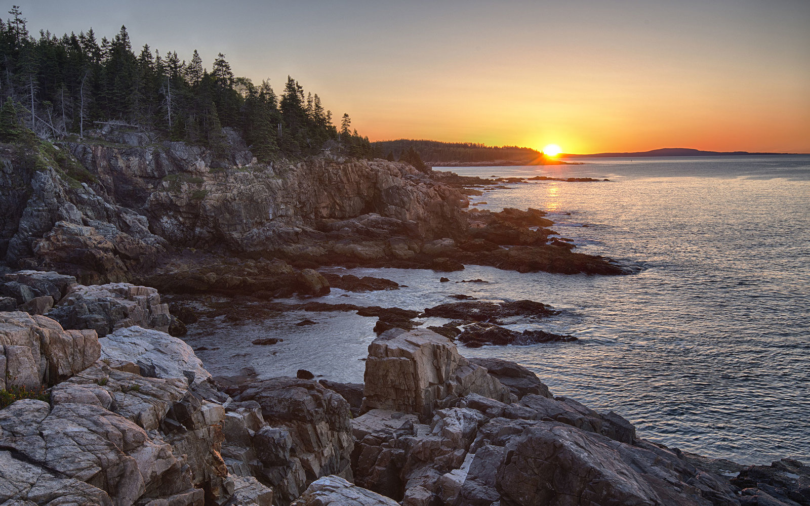 Watch a sunrise in Acadia