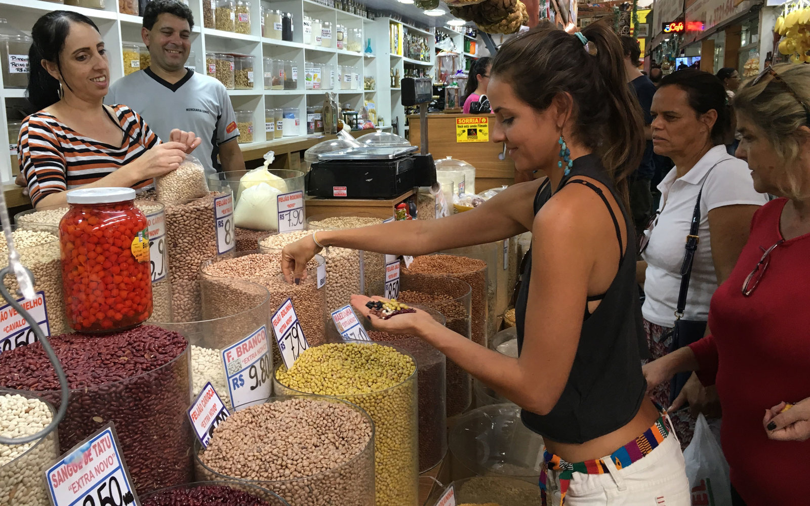 Bean Shopping in Pocos de Caldas