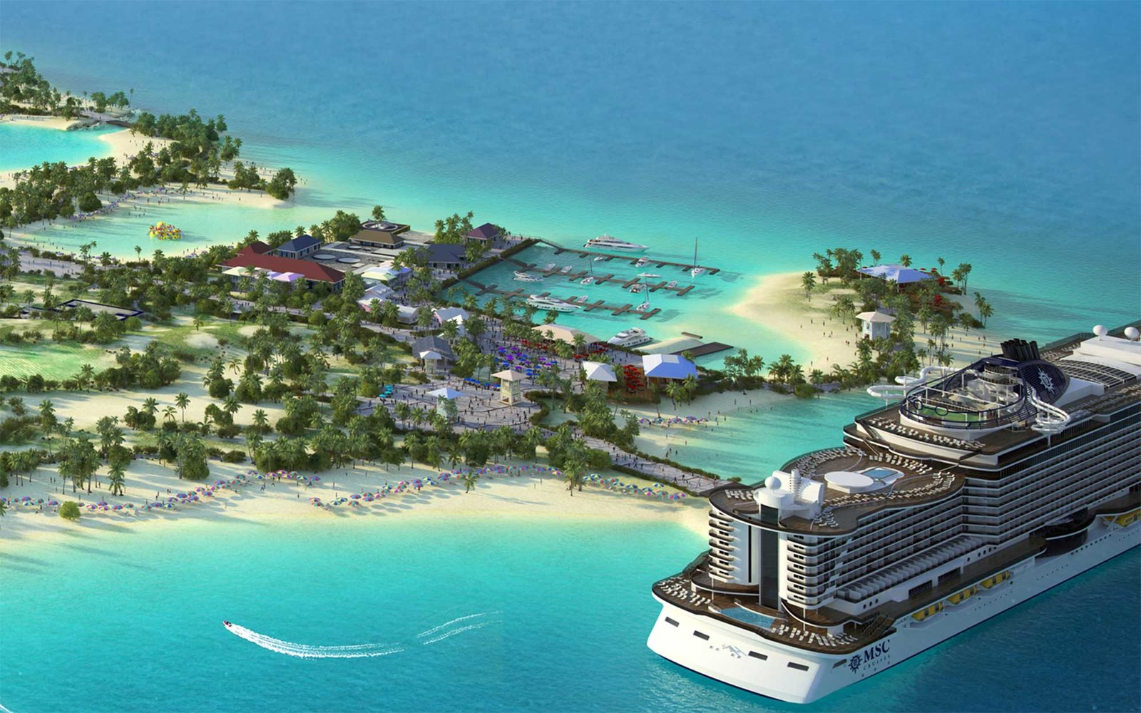 Cruise Lines With Their Own Private Islands Travel Leisure