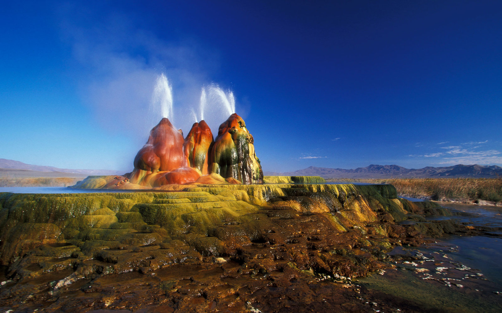 Geyser at Black Rock Desert Nevada