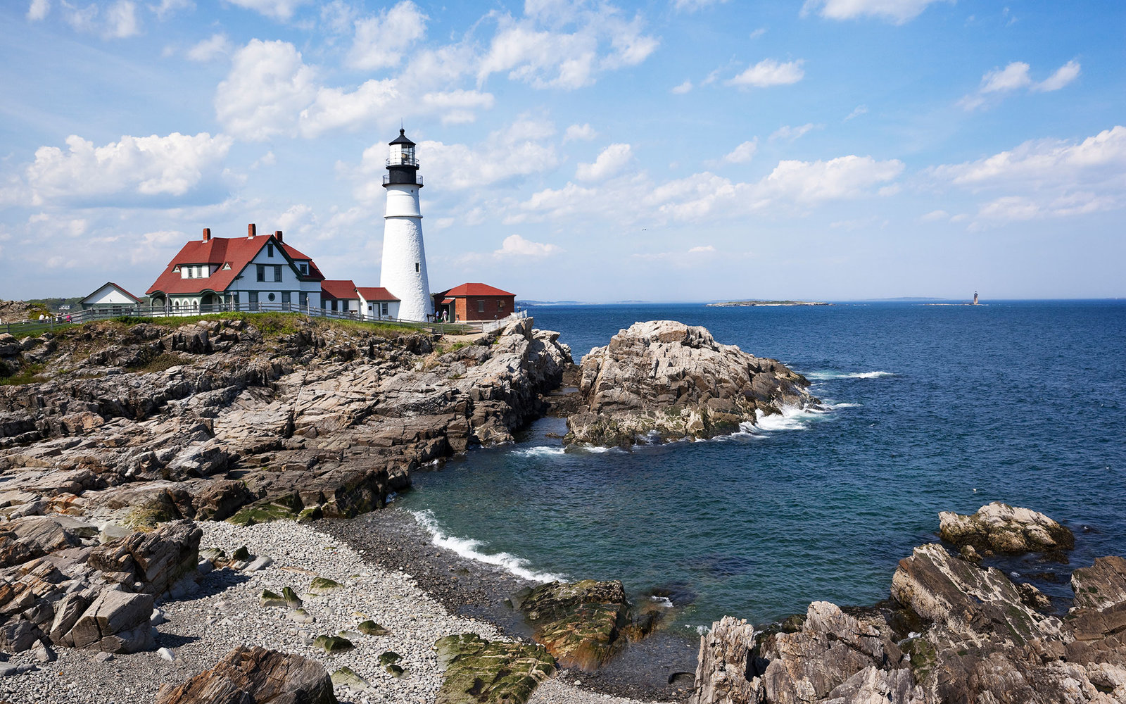 Completed in 1791, Portland Head Light is the oldest lighthouse in Maine and is located in Cape Elizabeth, at the entrance to the primary shipping channel into Portland Harbor. It was added to the the National Register of Historic Places in 1973.