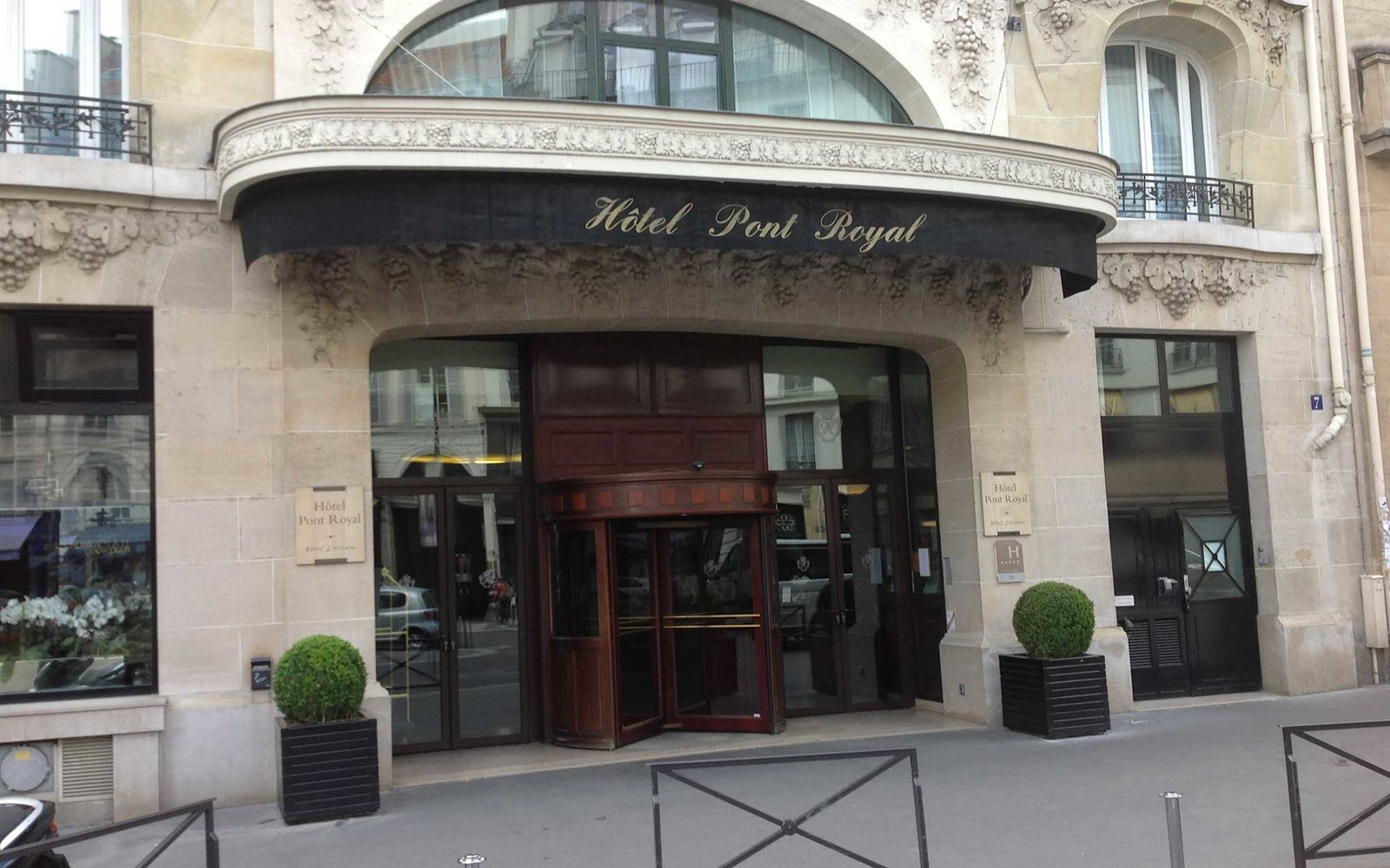 Paris, Hotel Pont Royal