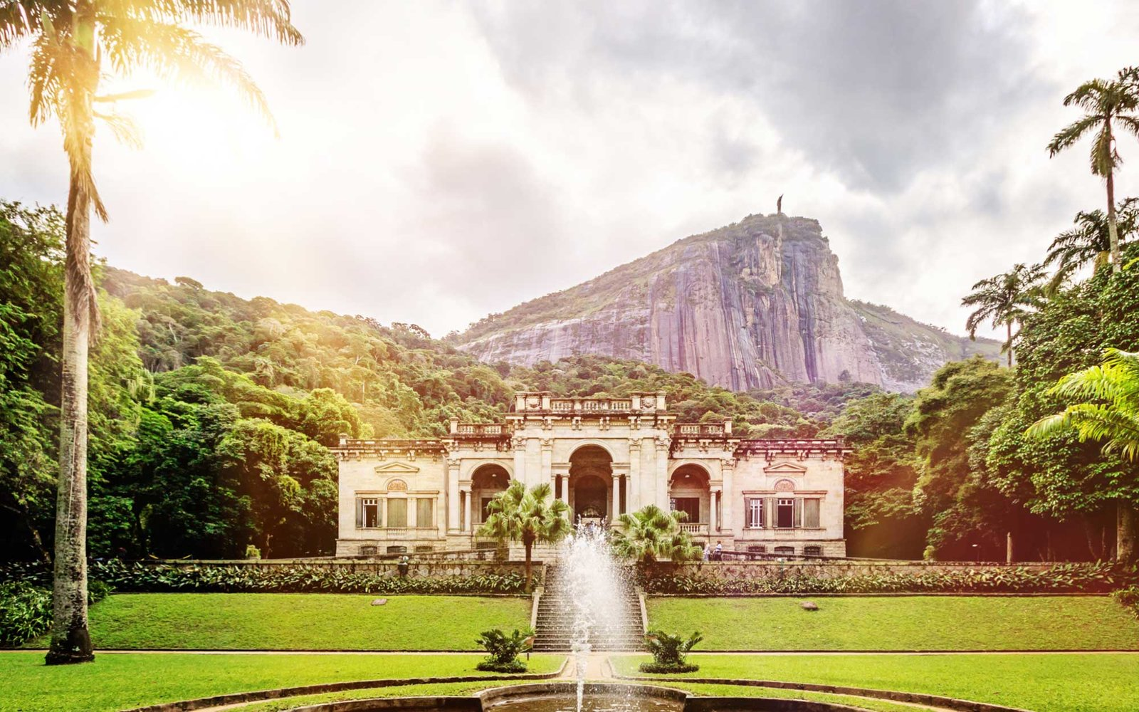 The Parque Lage with mansion
