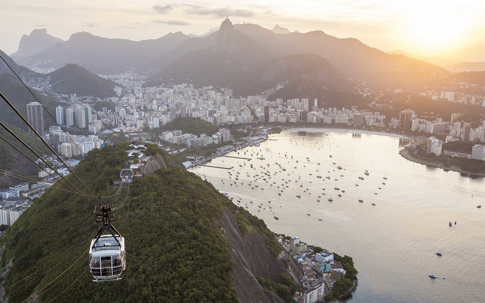 Cable car to Sugar Loaf mountain, Rio