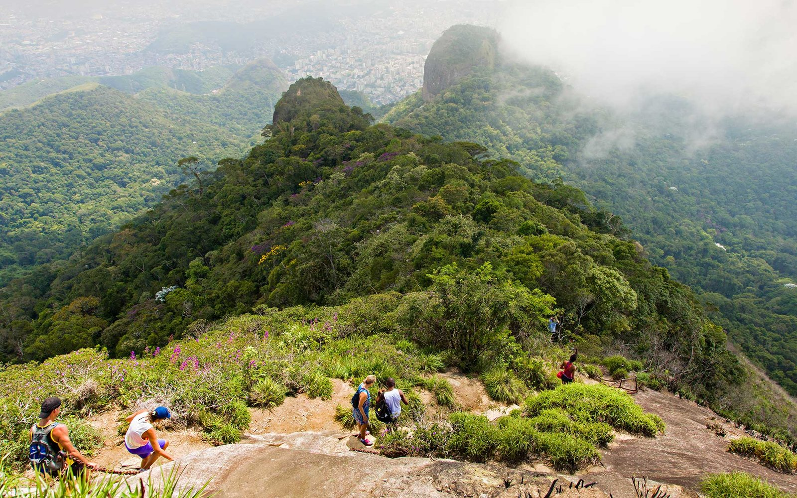 Hiking in Tijuca's Forest National Park