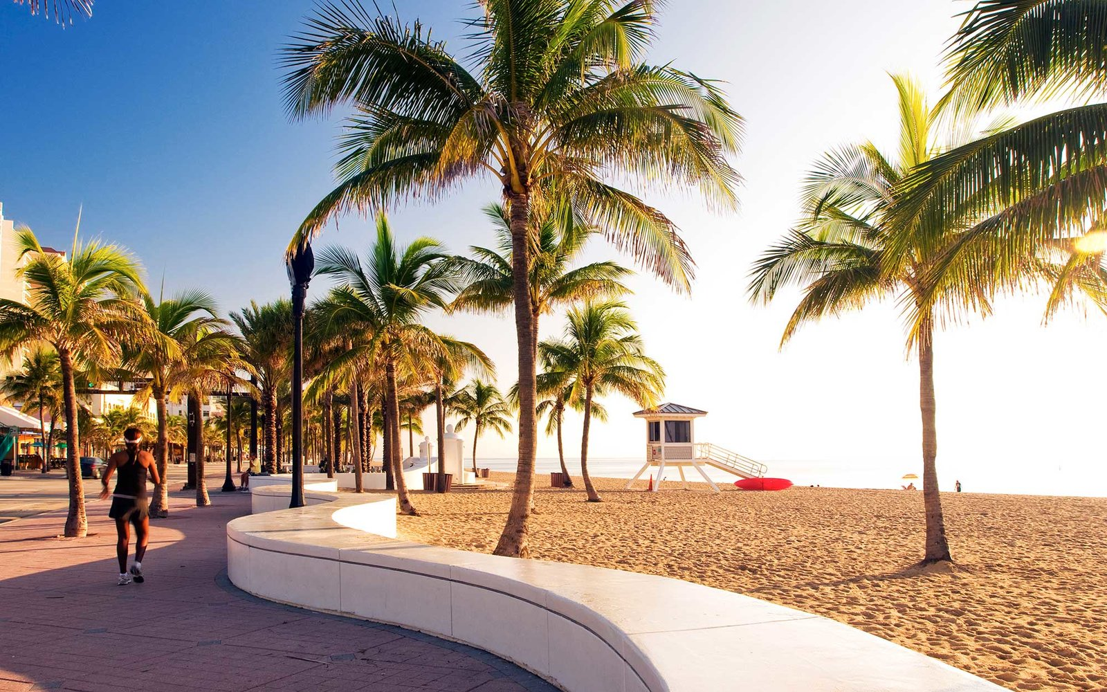 Beach, Fort Lauderdale, Florida, USA