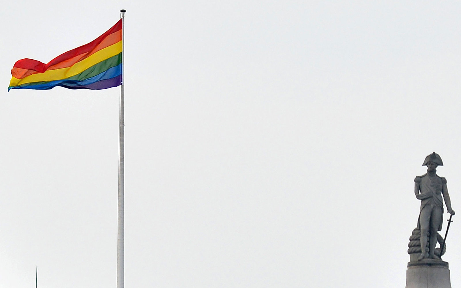 Pride Flag in London