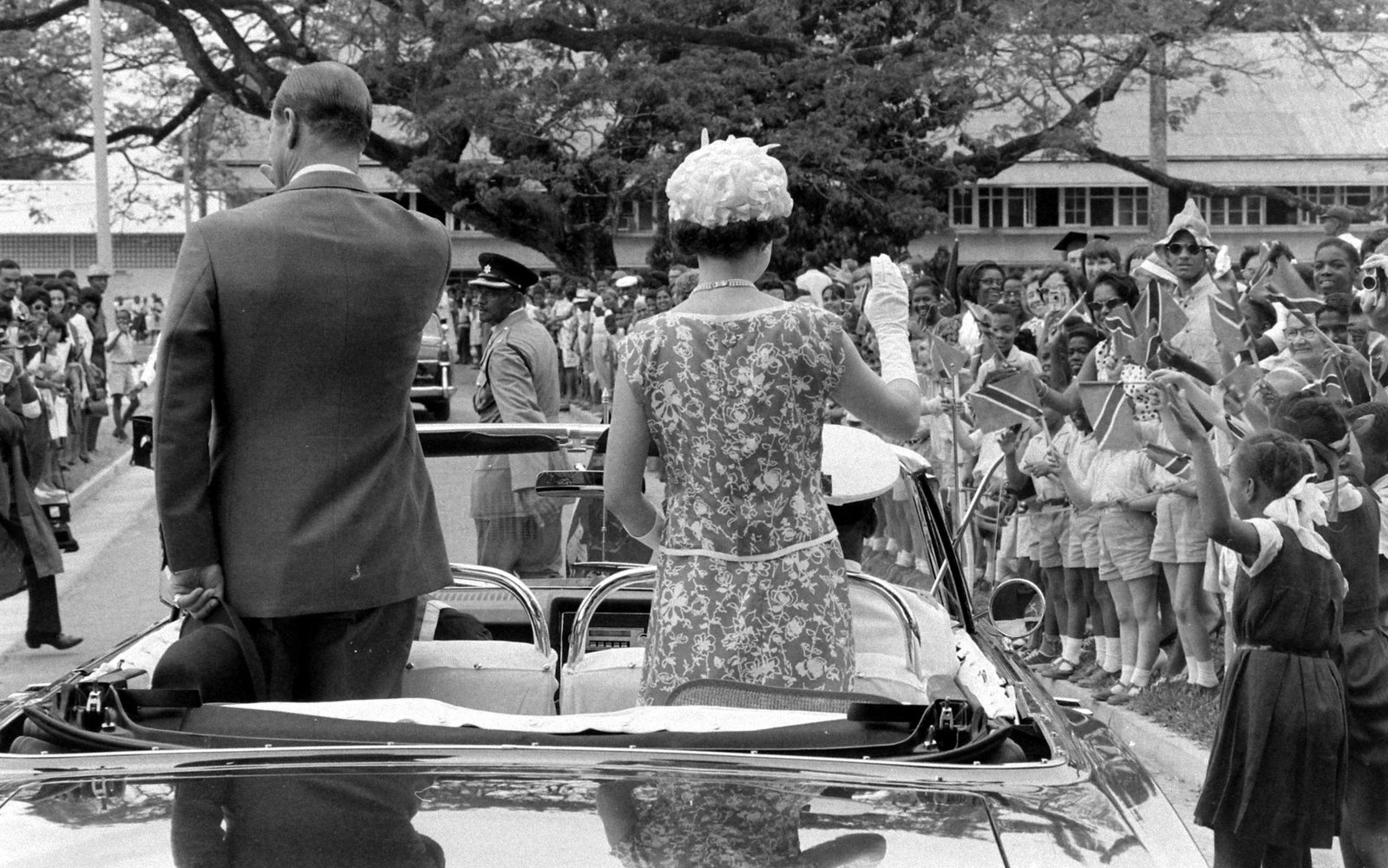 Queen Elizabeth II Trinidad and Tobago 1966