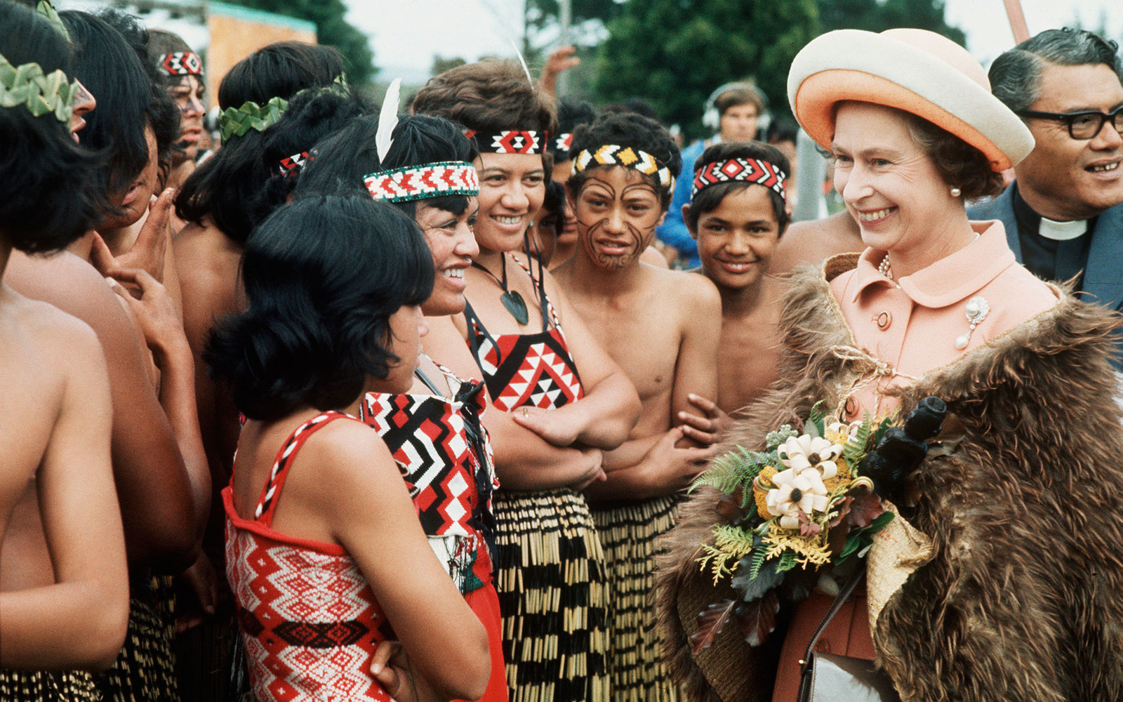 Queen Elizabeth II New Zealand 1977