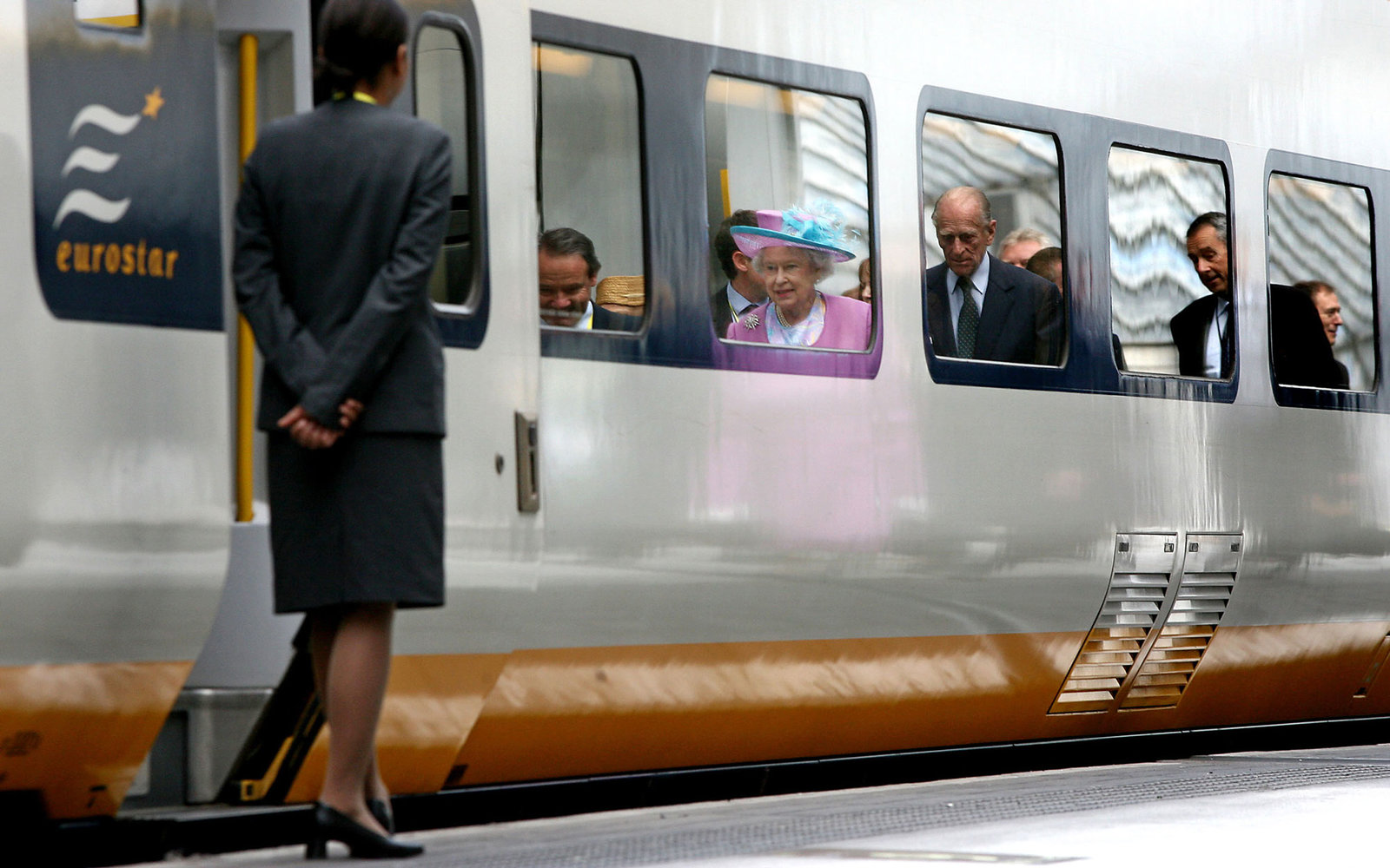 Queen Elizabeth II Brussels 2007