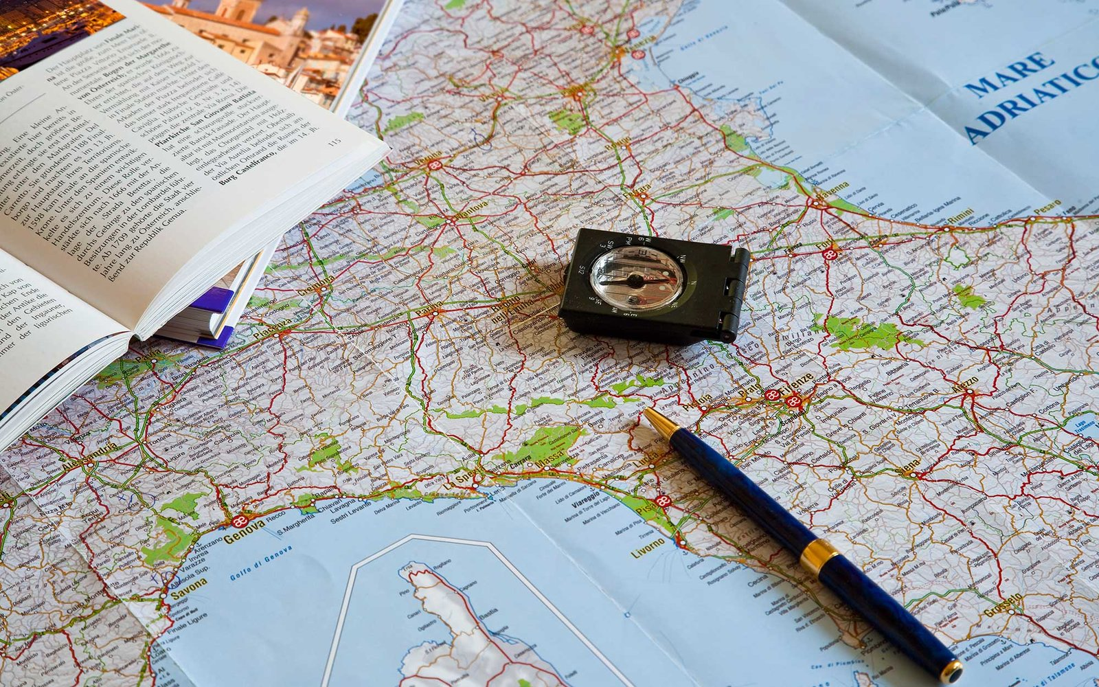 Travel  Planning with Map and Compass