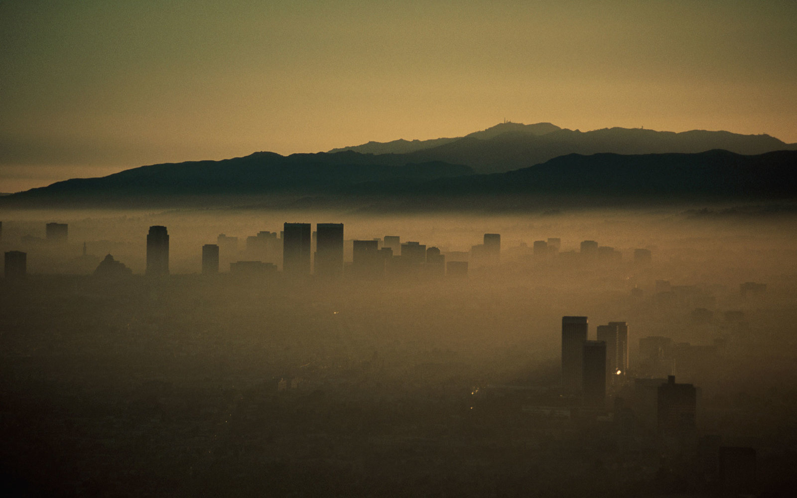 Los Angeles Air Pollution Smog