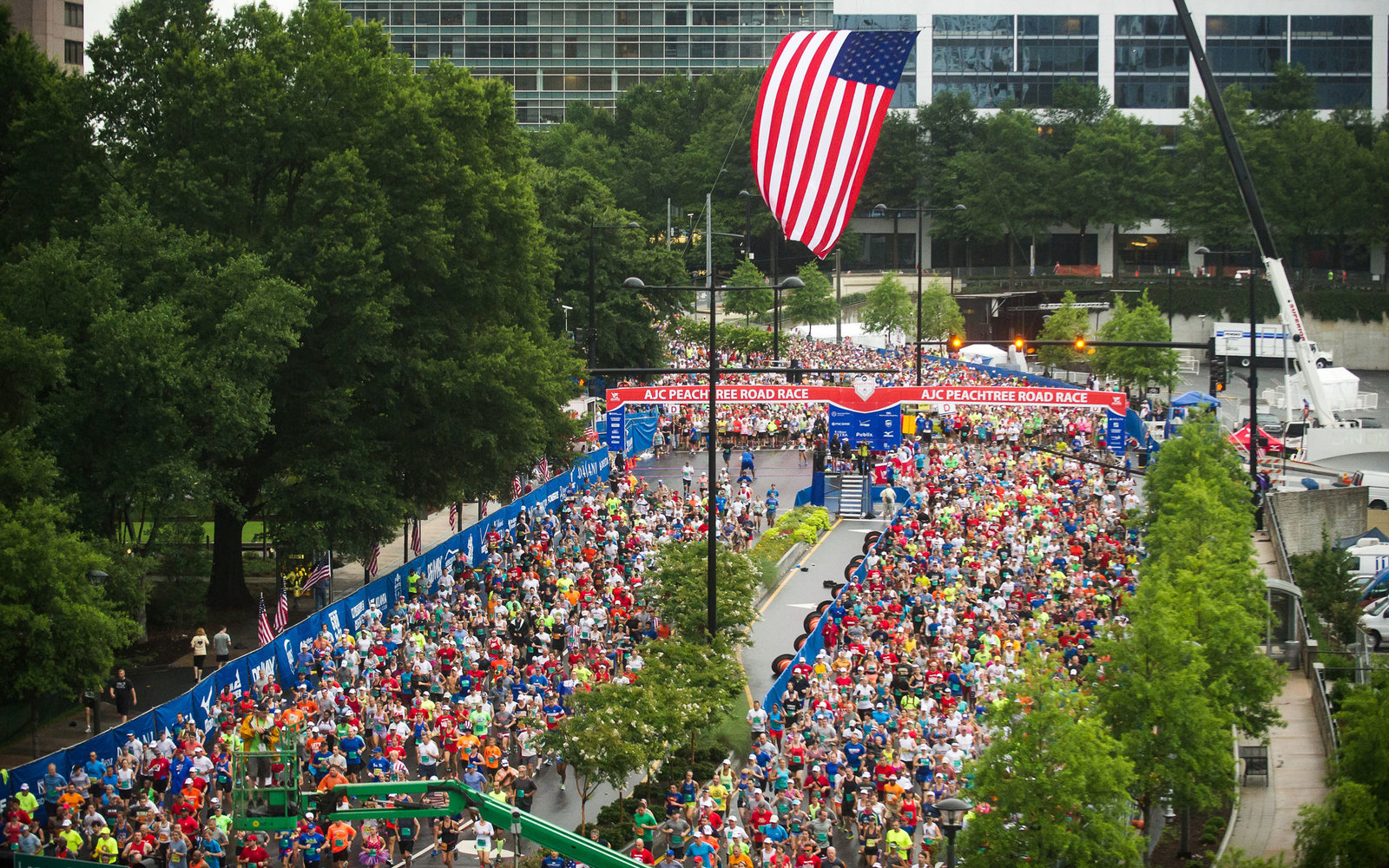 Peachtree Road Race Atlanta