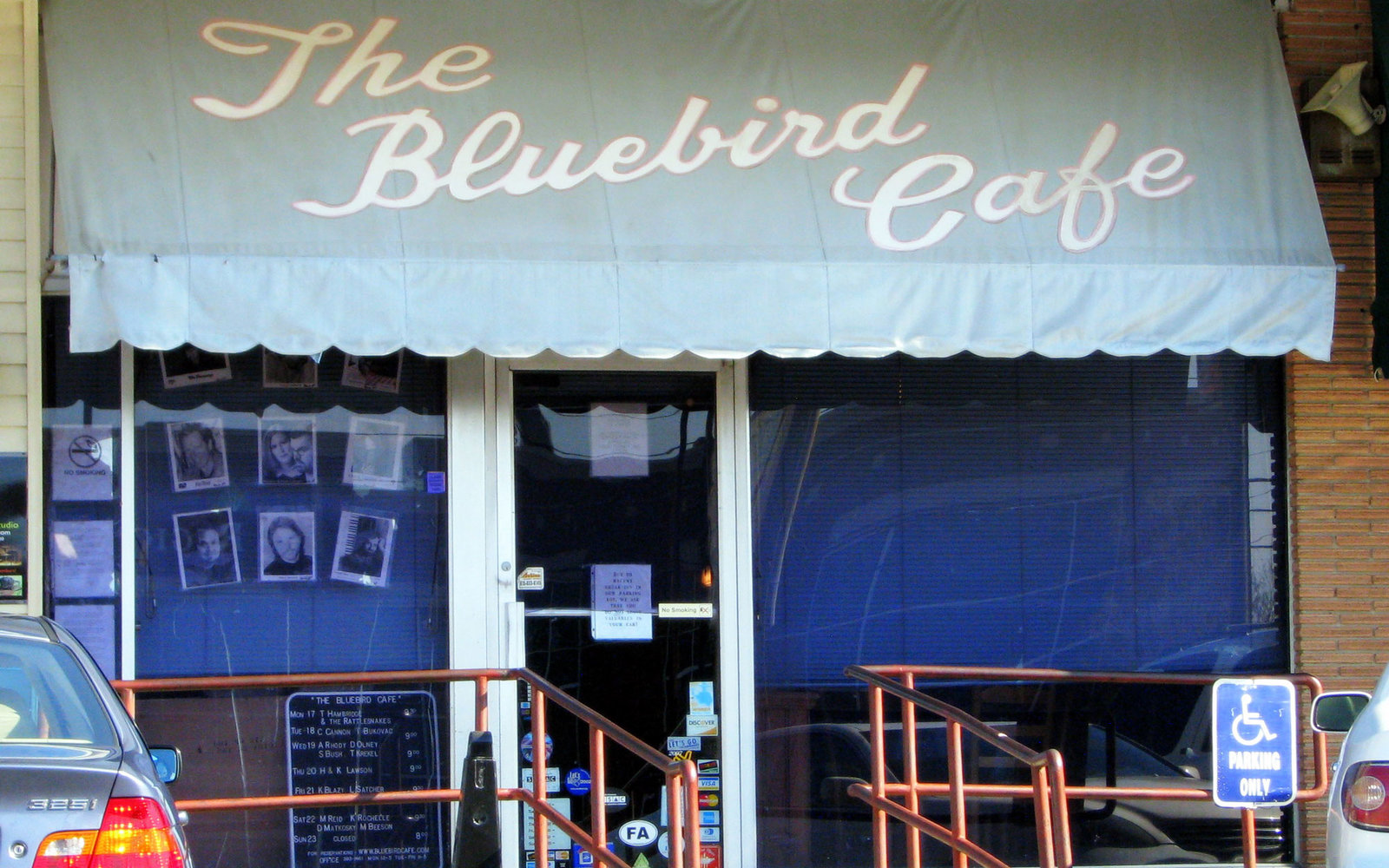 The Bluebird Cafe from 'Nashville'