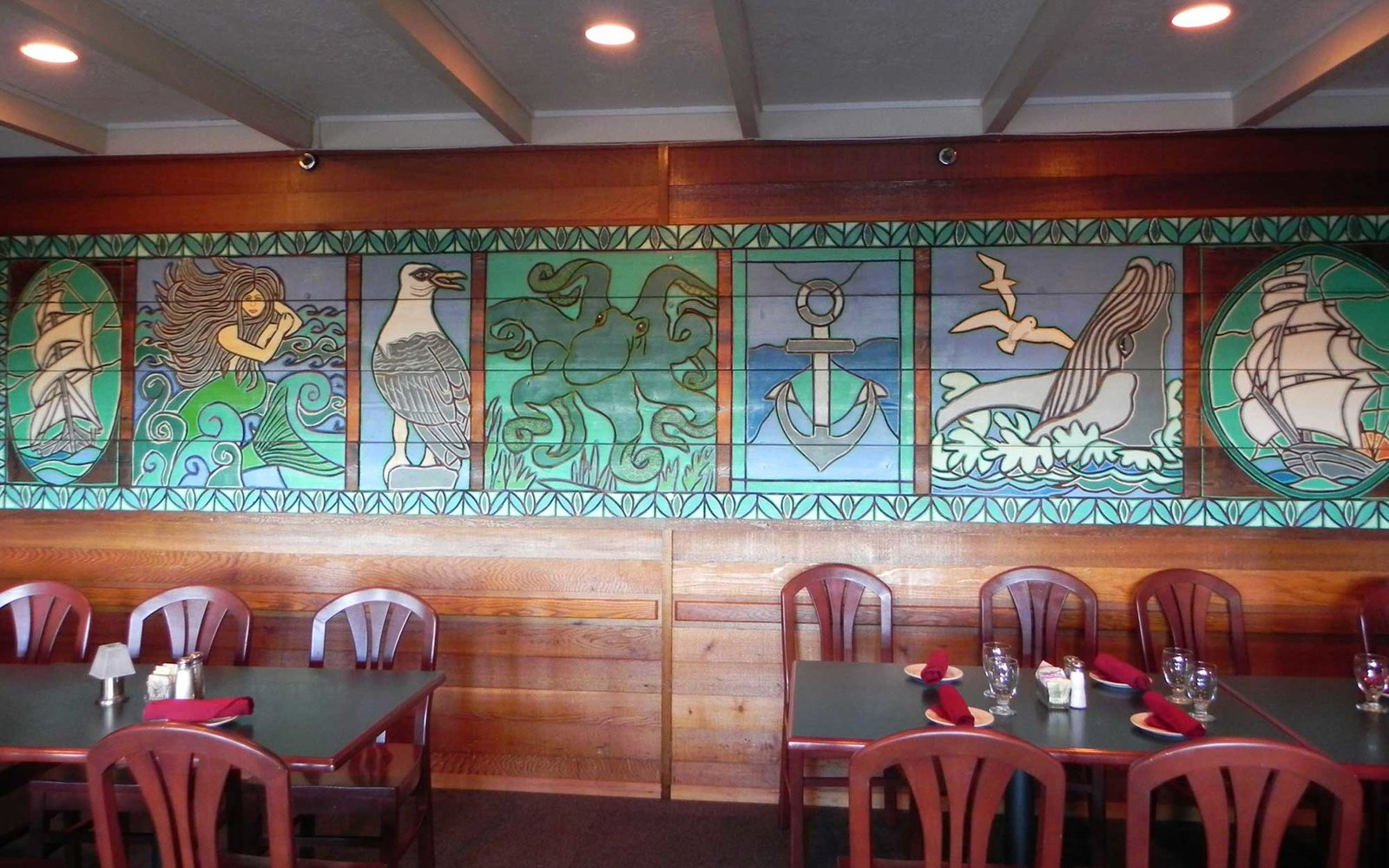 Kalaloch Lodge dining interior
