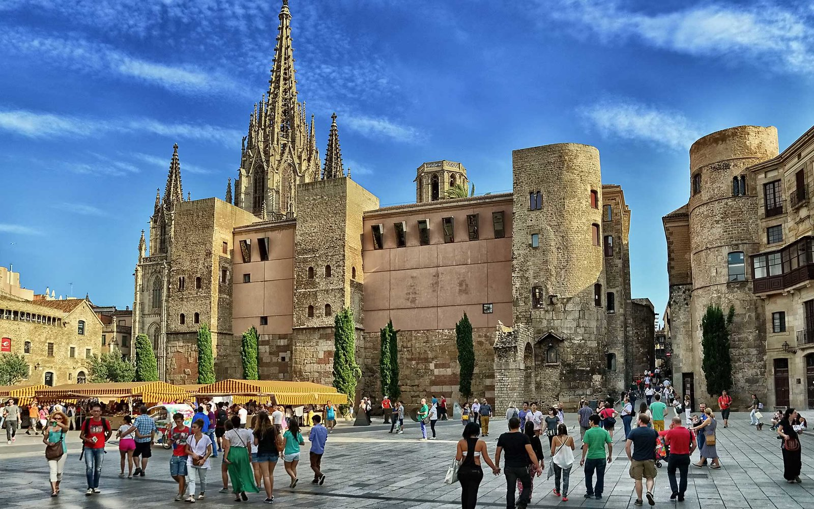 adriatic house and barcelona cathedral