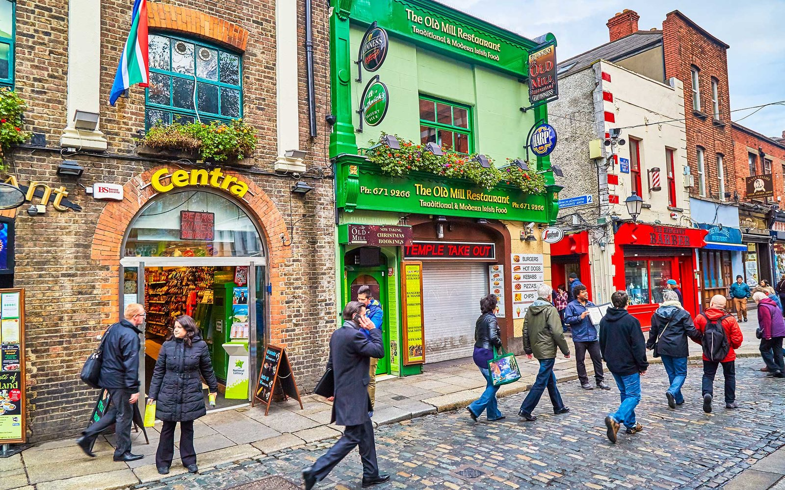 Streets of Dublin City, Ireland