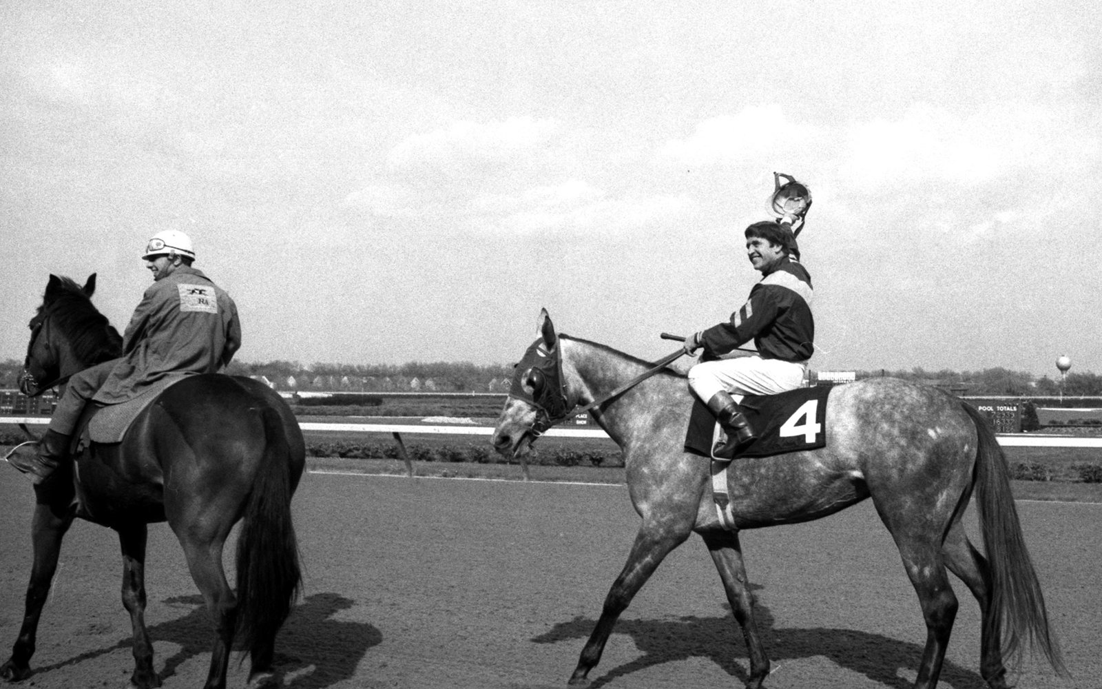 Jockey Bobby Ussery victor in the Kentucky Derby 1968
