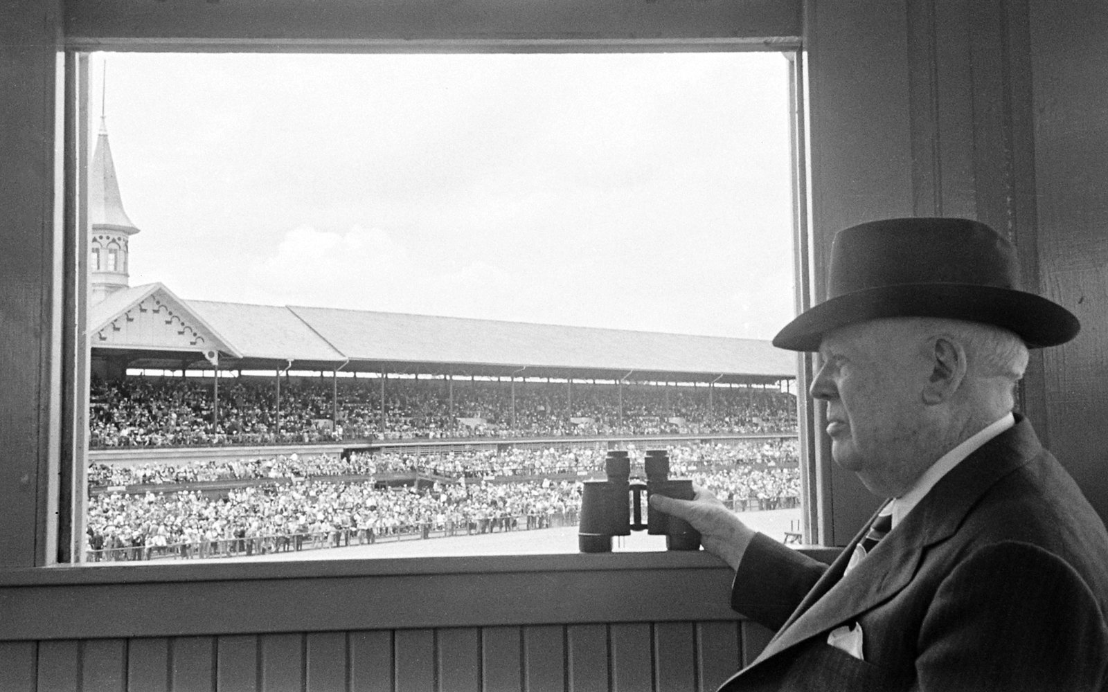 Churchill Downs President Matt Winn 1945