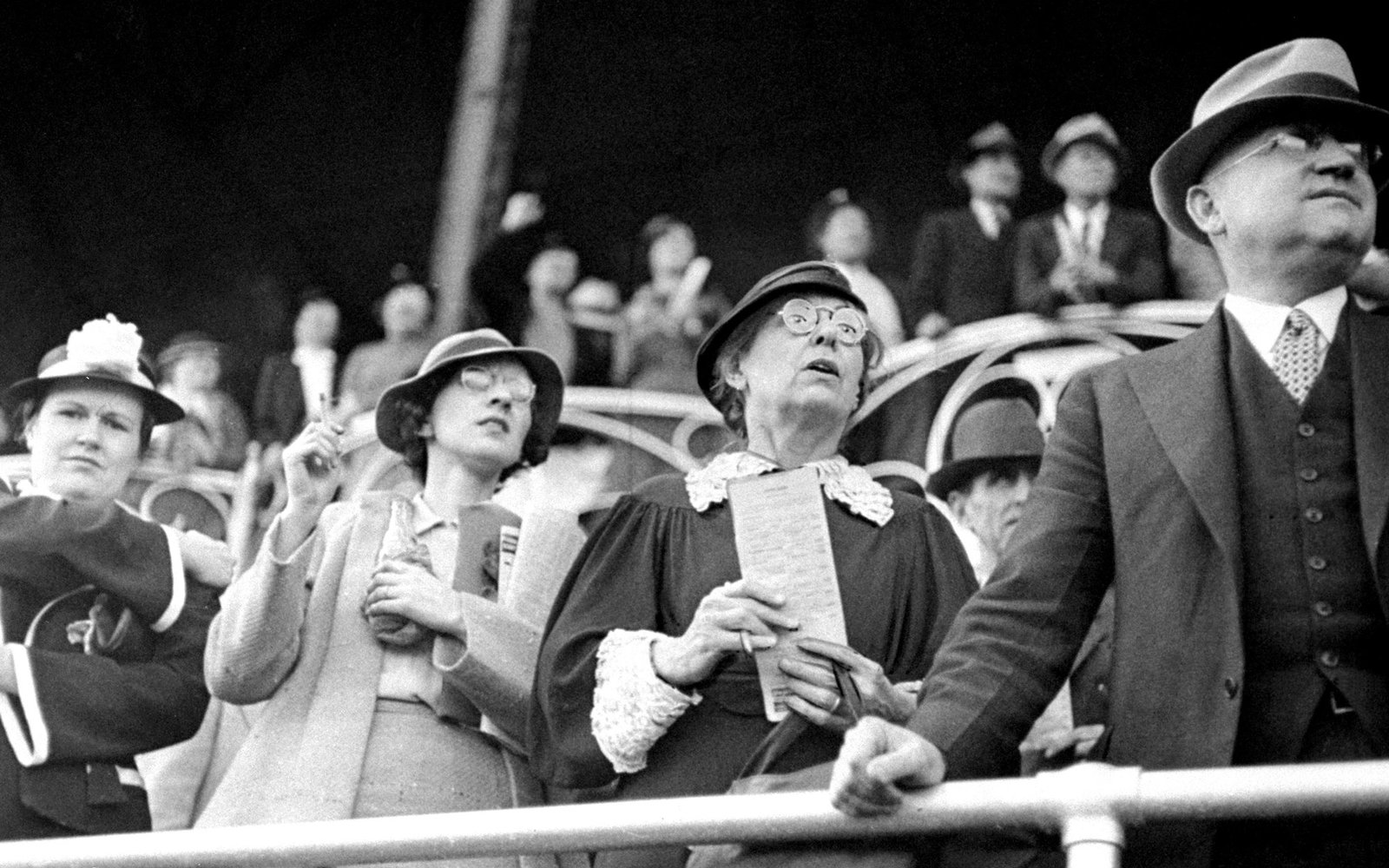 Kentucky Derby Spectators 1936