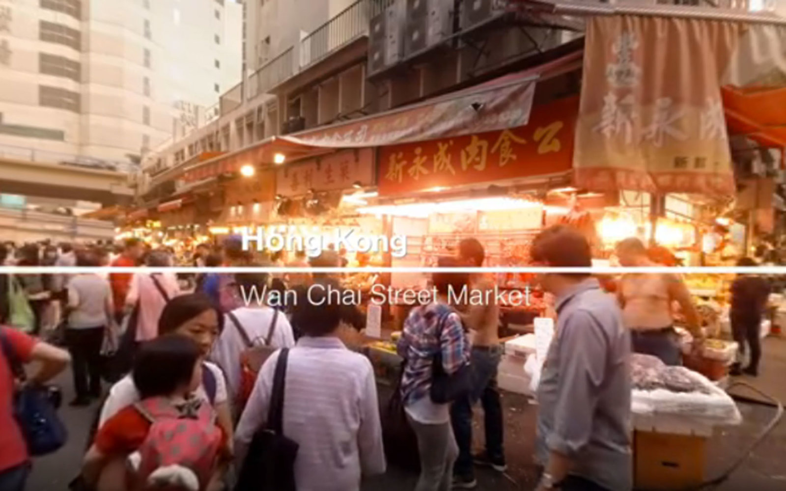 hong kong marketplace