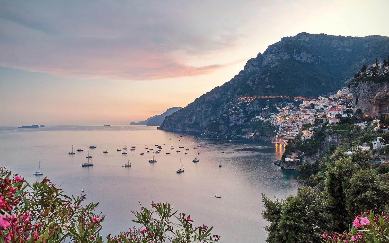 A Sunrise Over the Amalfi Coast