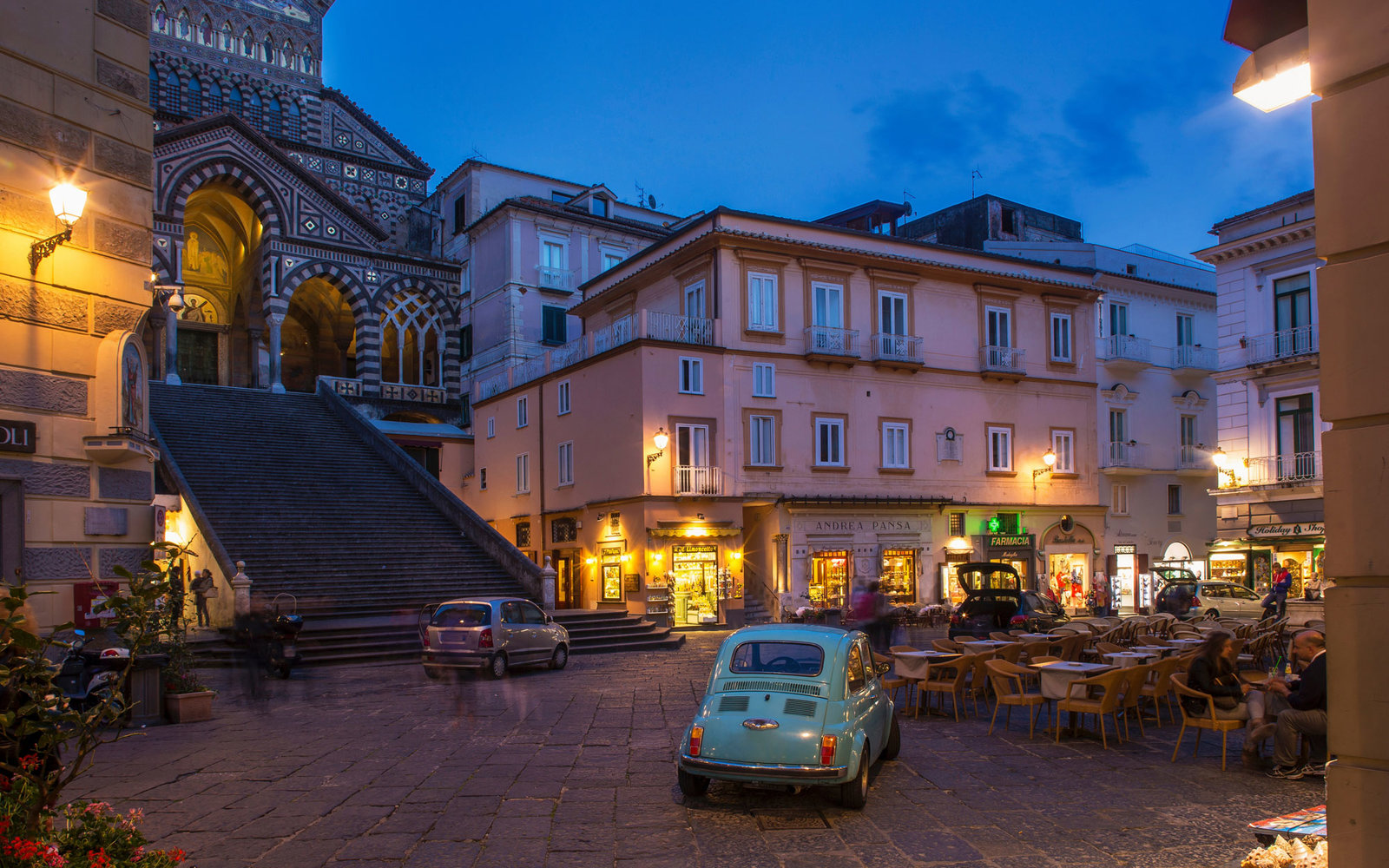 Square of Amalfi Cathedral