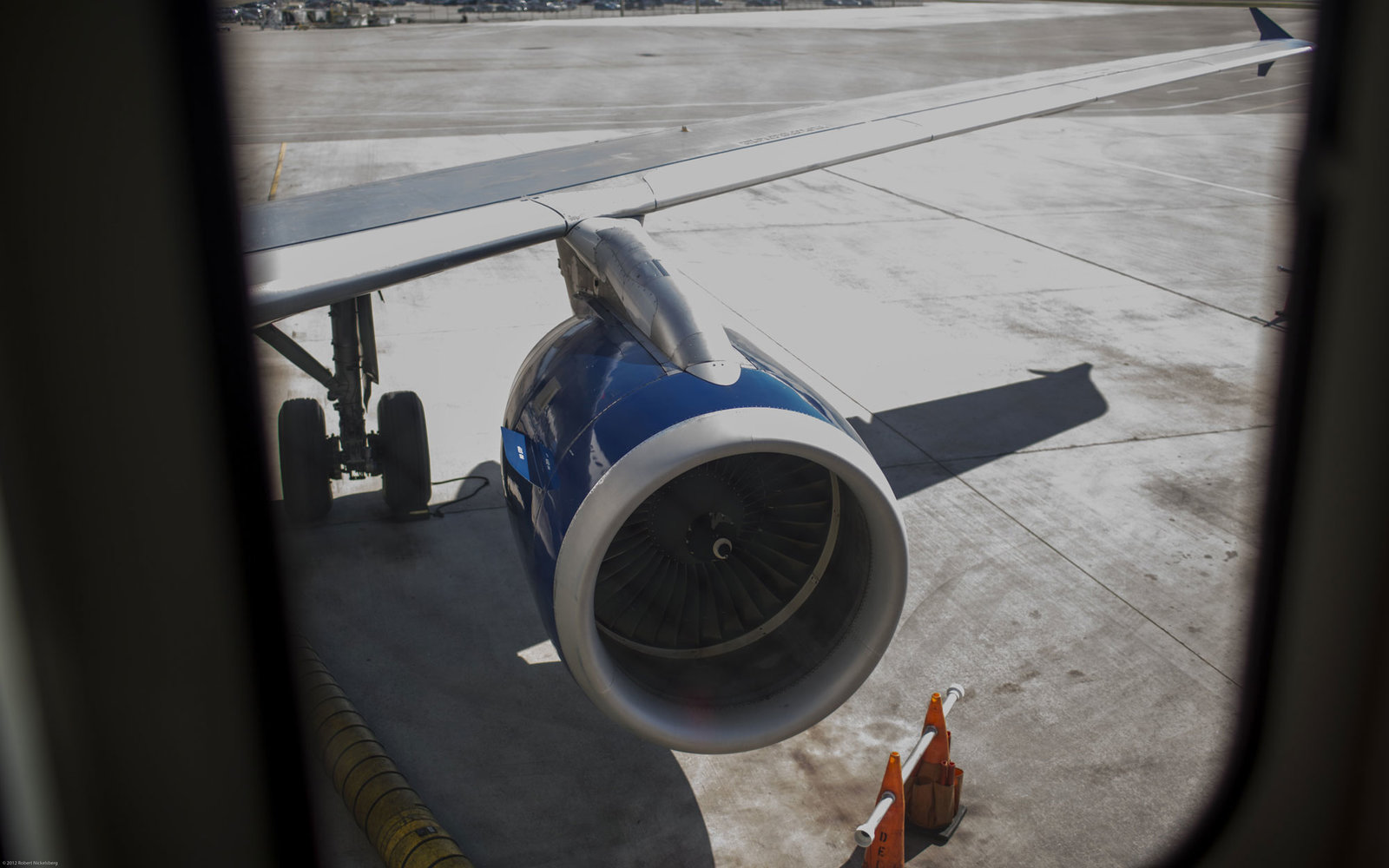 Delta Airline Plane Engine