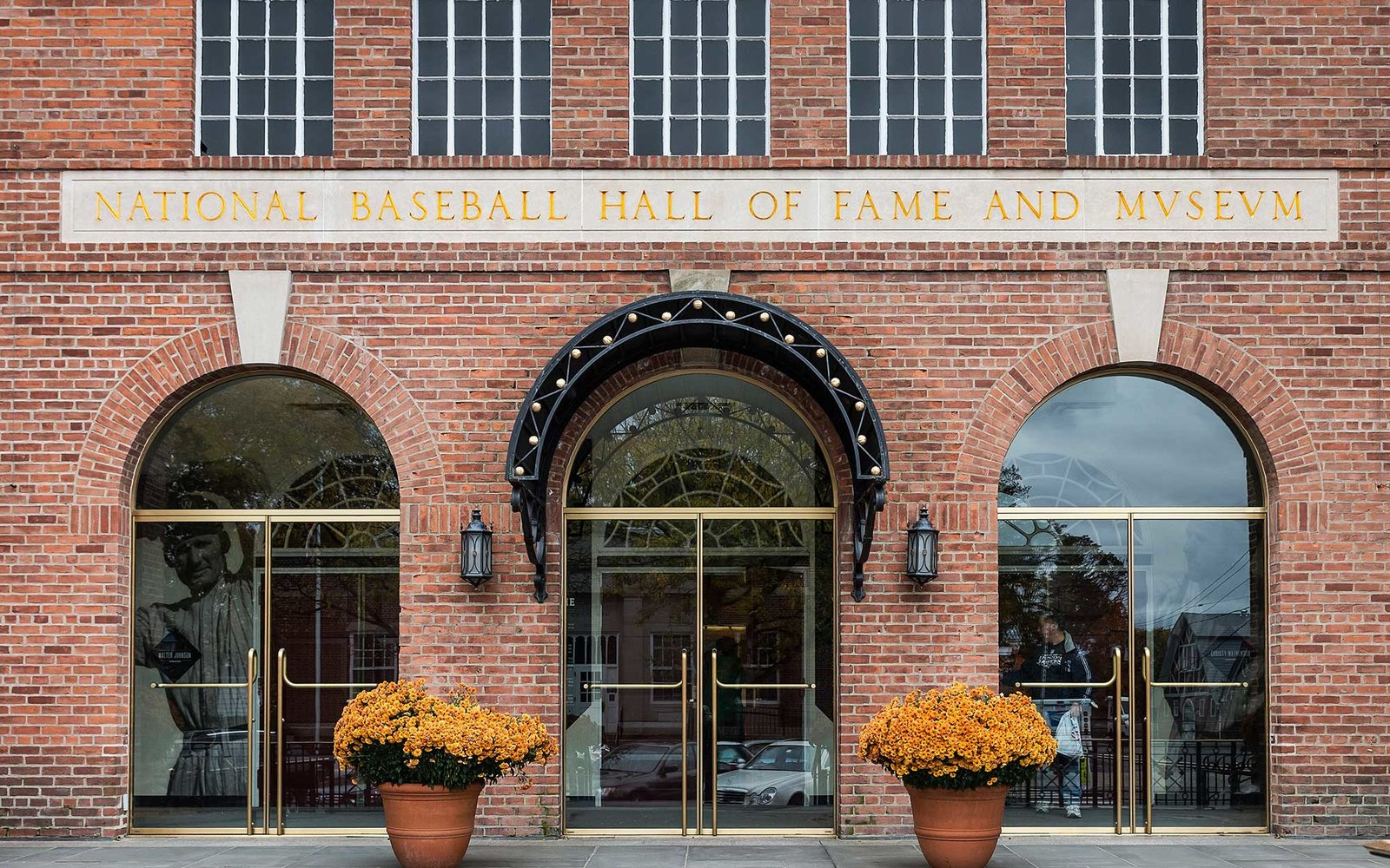 COOPERSTOWN, NEW YORK, UNITED STATES - 2014/10/19: National Baseball Hall of Fame and Museum. (Photo by John Greim/LightRocket via Getty Images)