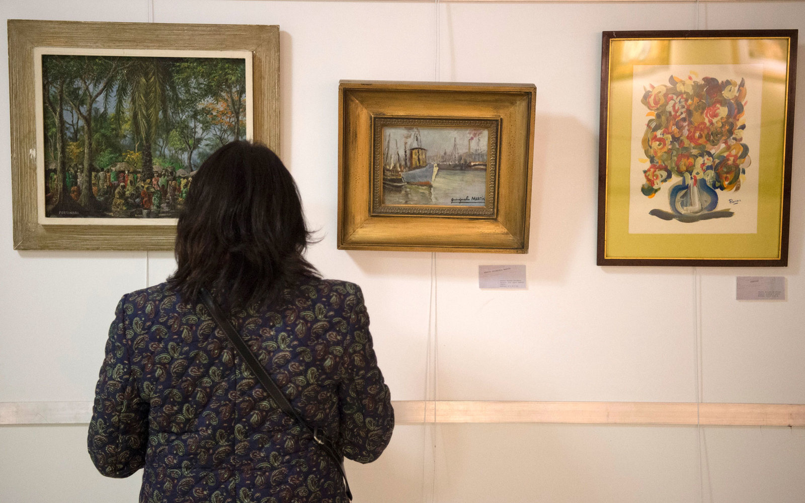 Fake paintings seized by Interpol are exhibited for the first time in Argentina