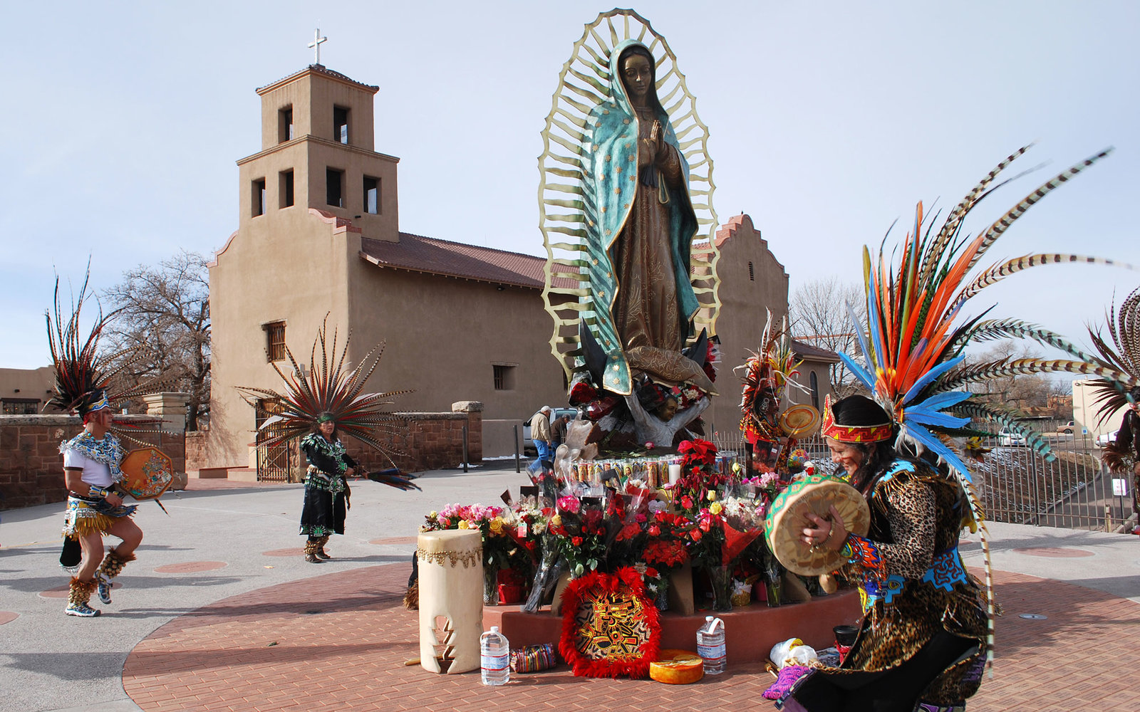 Guadalupe Church Santa Fe New Mexico