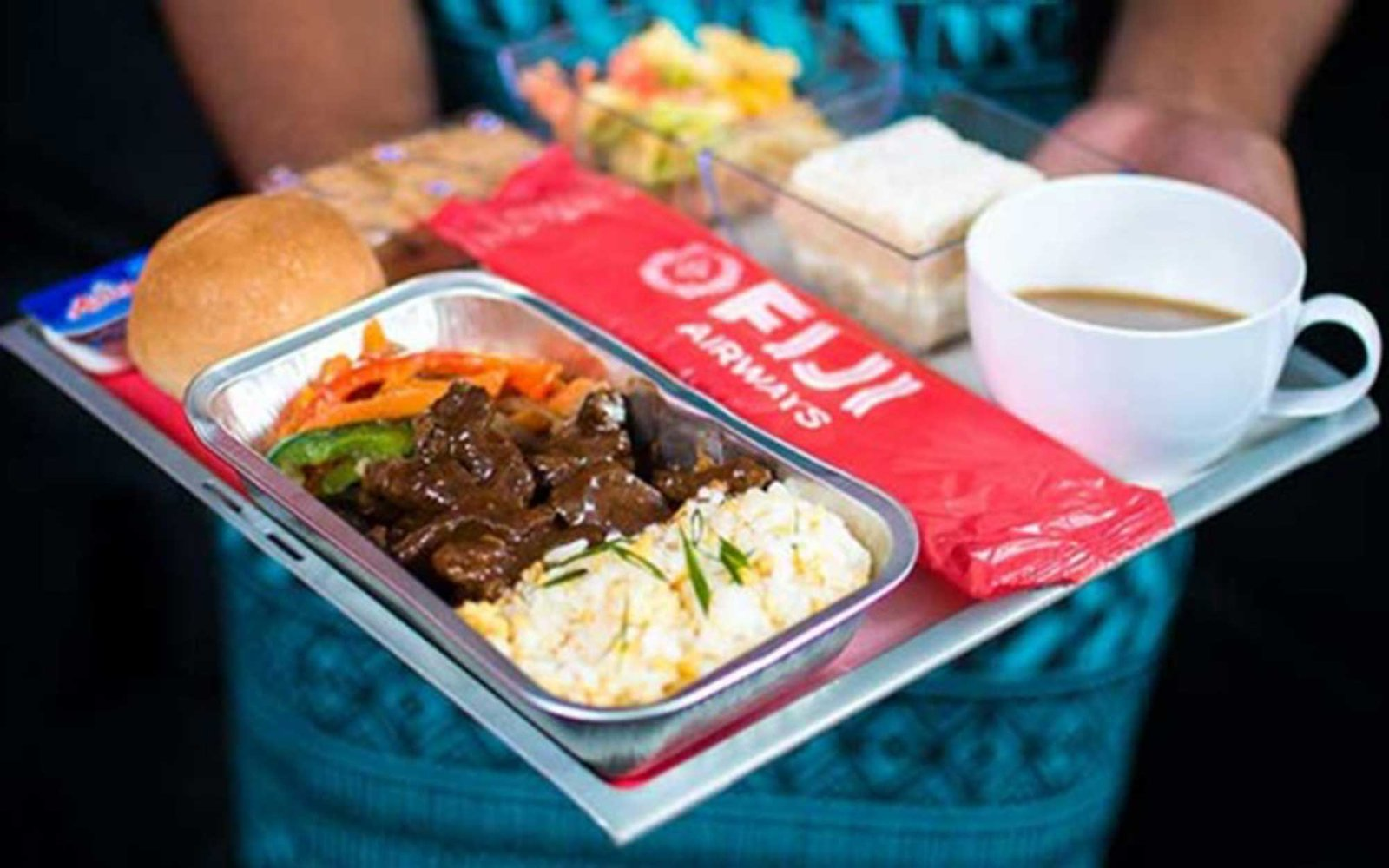 Fiji Airline food