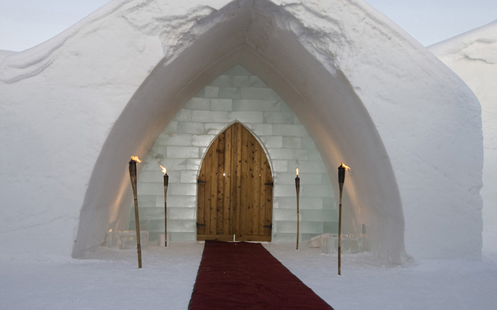 A Chapel Made of Ice