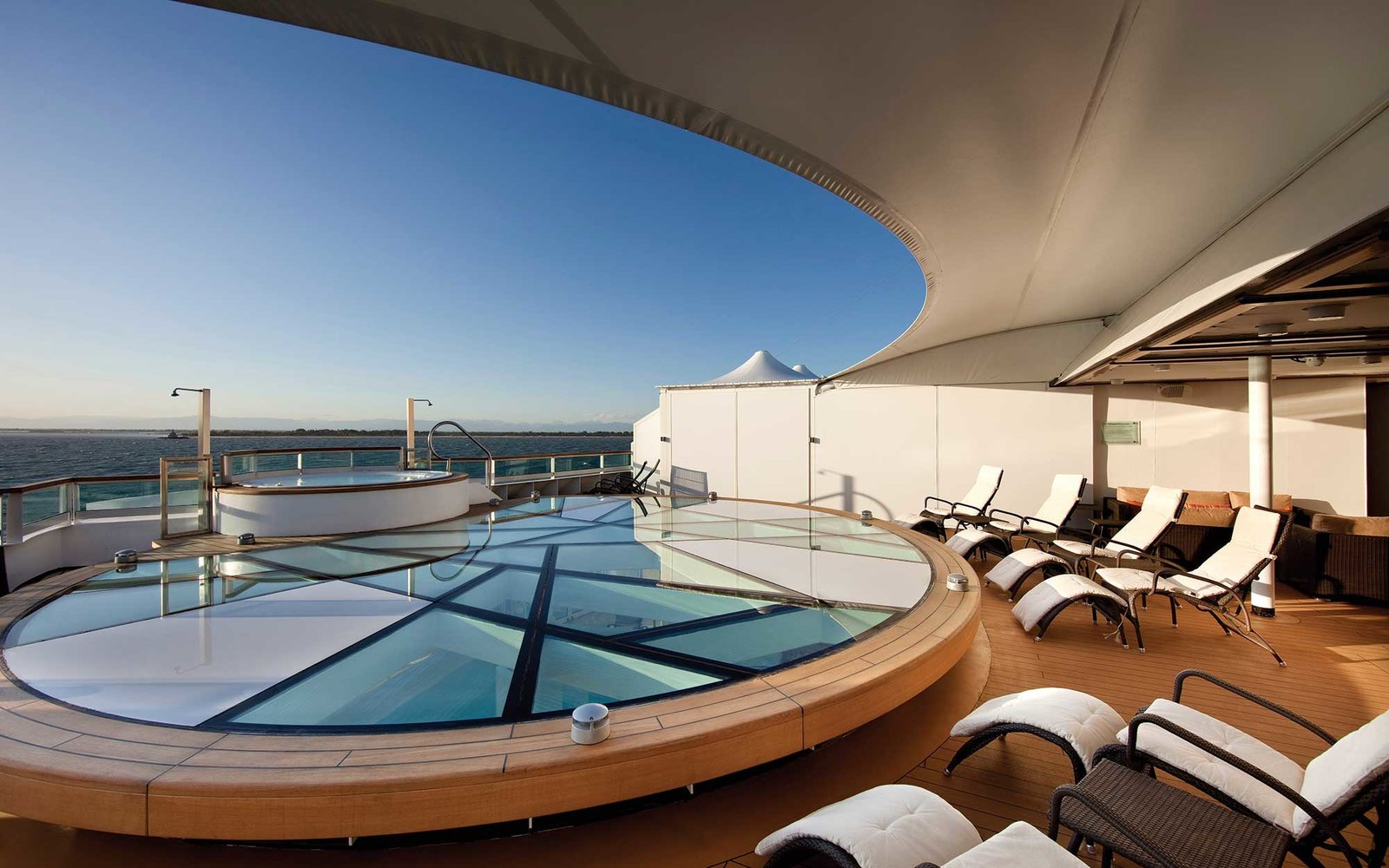 Spa Terrace - Deck 10 AftSeabourn Odyssey - Seabourn Cruise Line